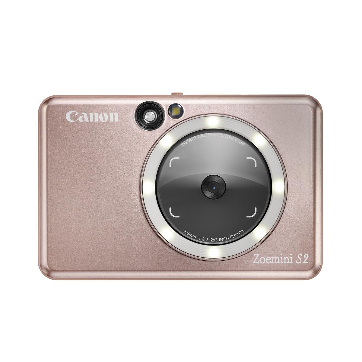 Canon Zoemini S2 Sofortbildkamera Rose Gold