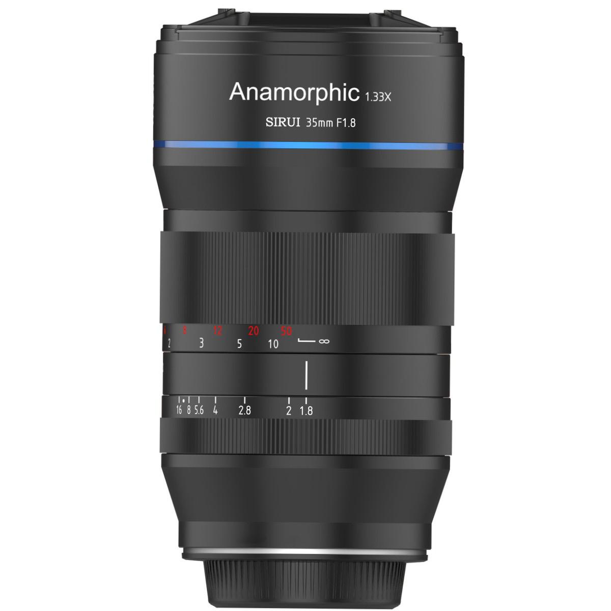 Sirui 35 mm 1:1,8 Anamorphot 1,33x MFT