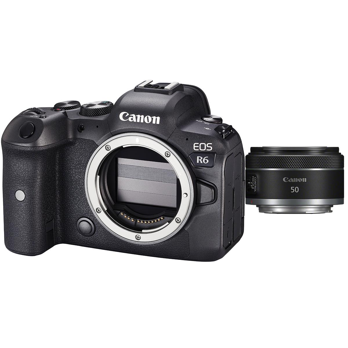 Canon EOS R6 Kit mit RF 50 mm 1:1,8