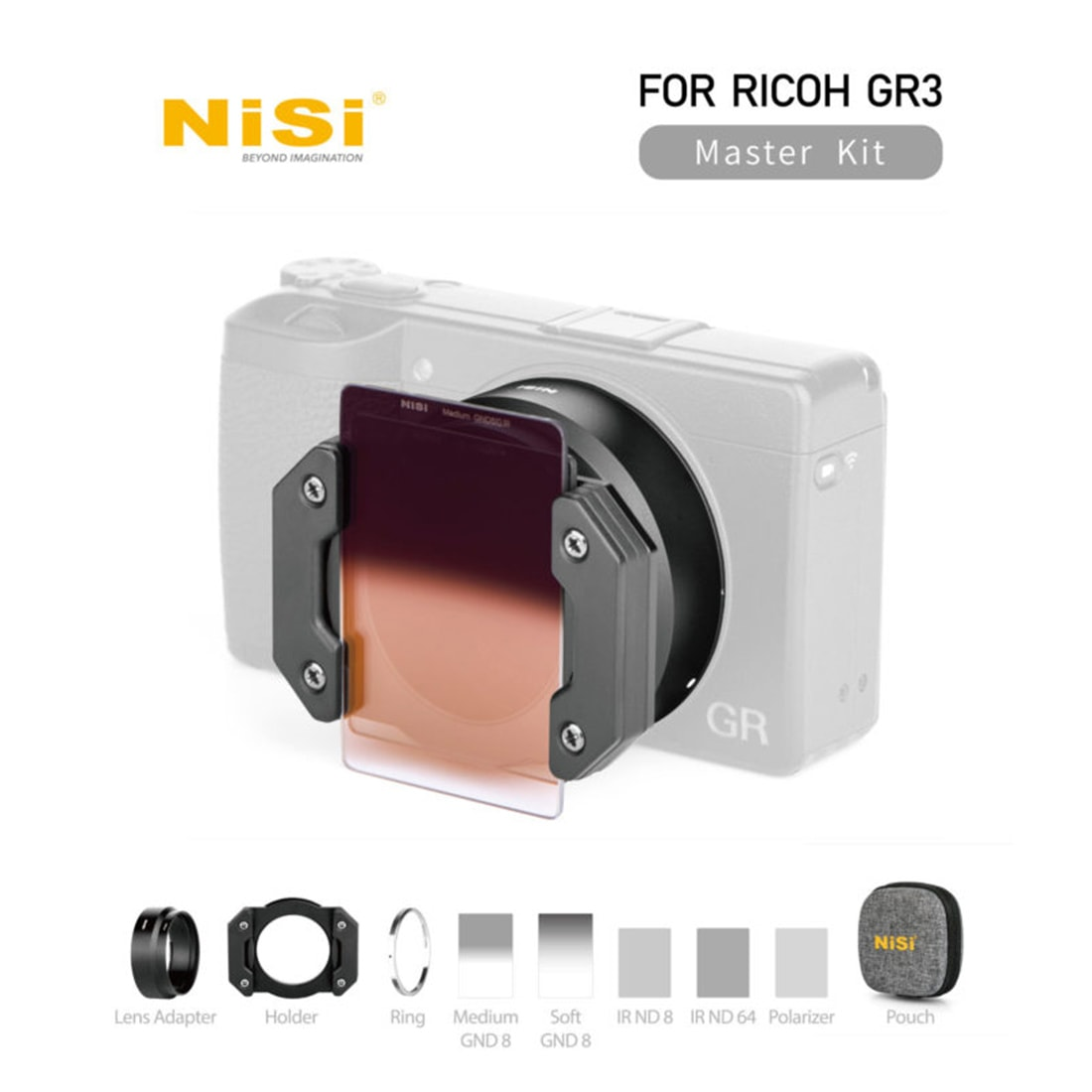 NiSi Ricoh GR3 Master Kit