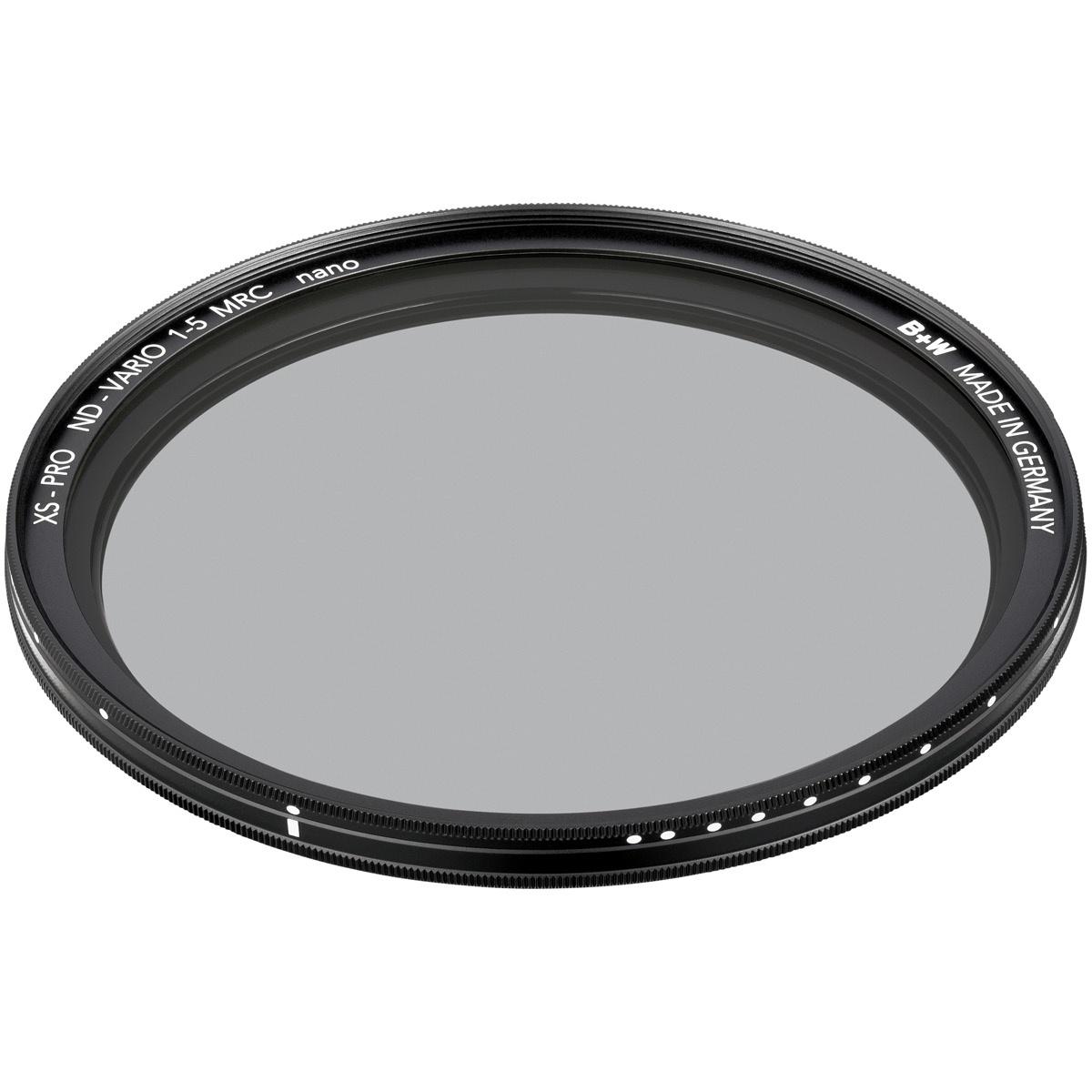 B+W Graufilter 62 mm XS-Pro Vario +1 - +5