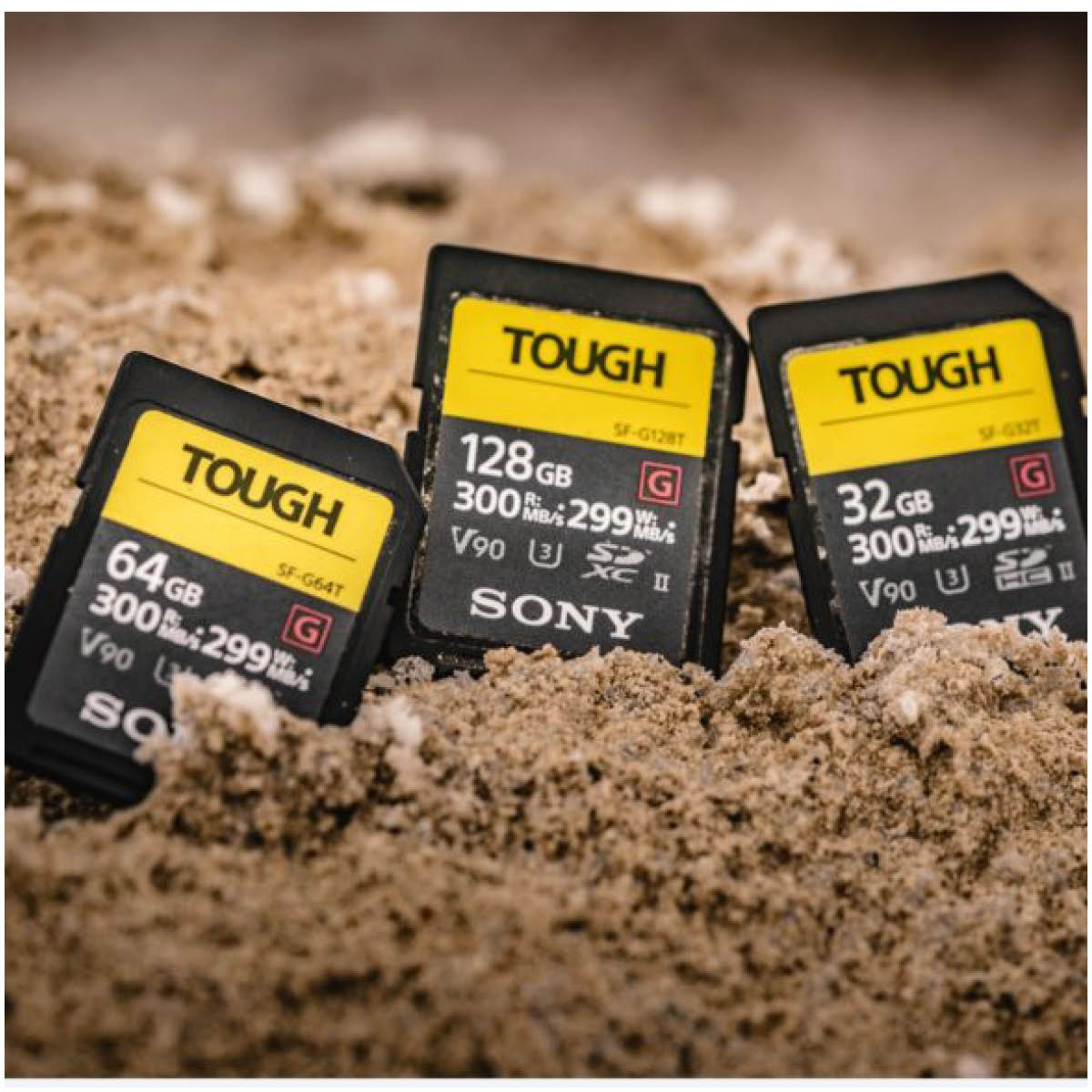 Sony 128 GB SDXC Tough G