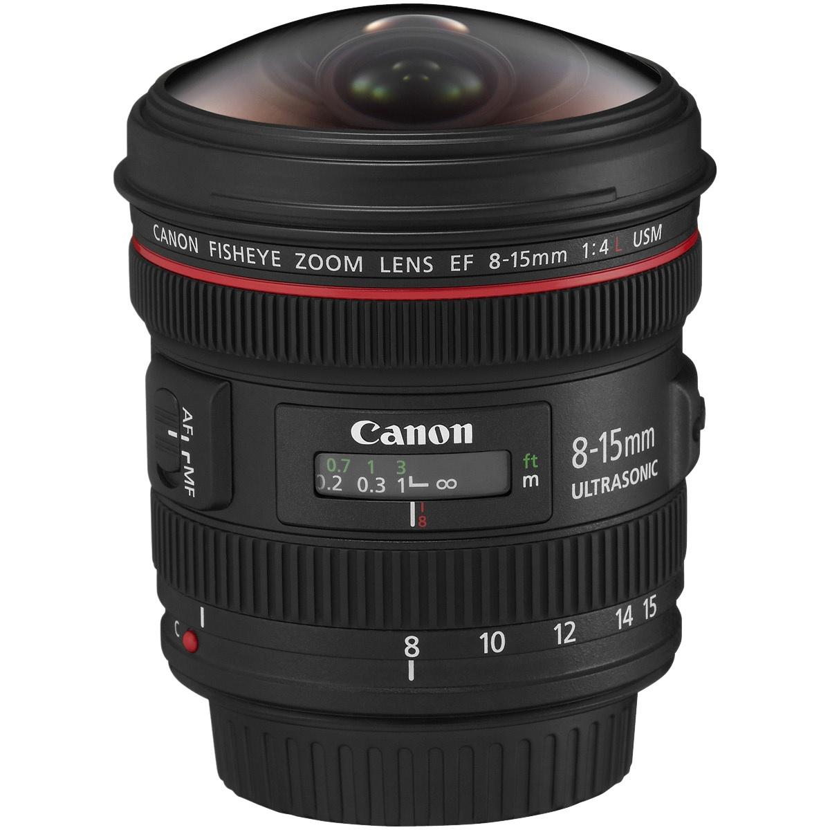 Canon EF 8-15 mm 1:4,0 L Fisheye USM