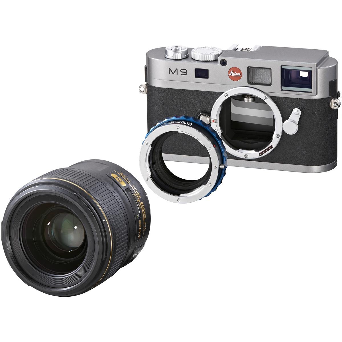Novoflex Adapter Nikon Objektive an Leica M NT