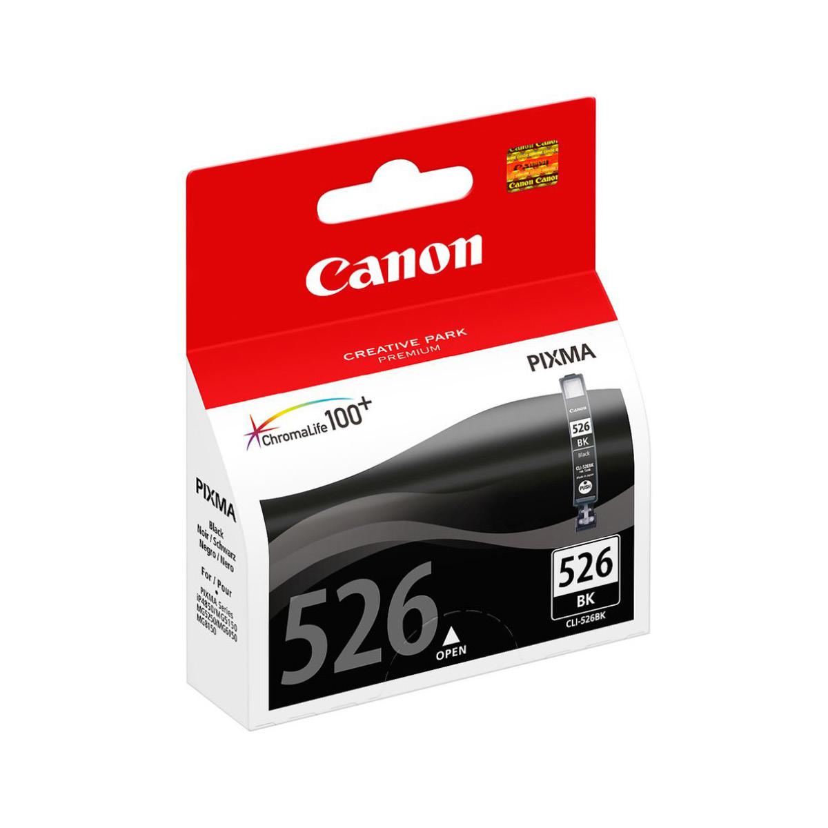 Canon CLI 526 BK Schwarz