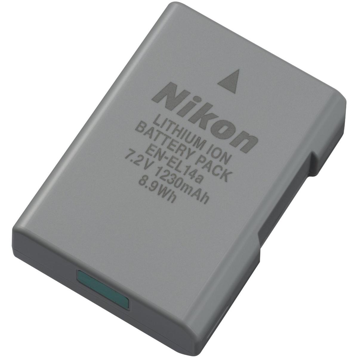 Nikon EN-EL14A Lithium-Ionen Akku