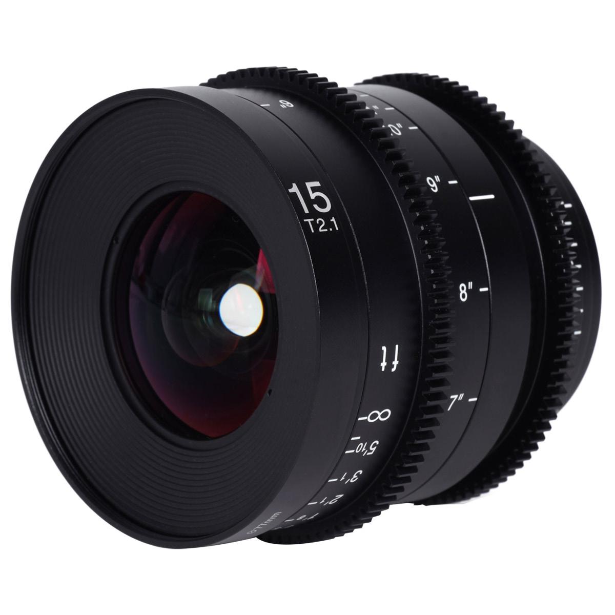 Laowa 15 mm 1:2,1 Zero-D Cine RF