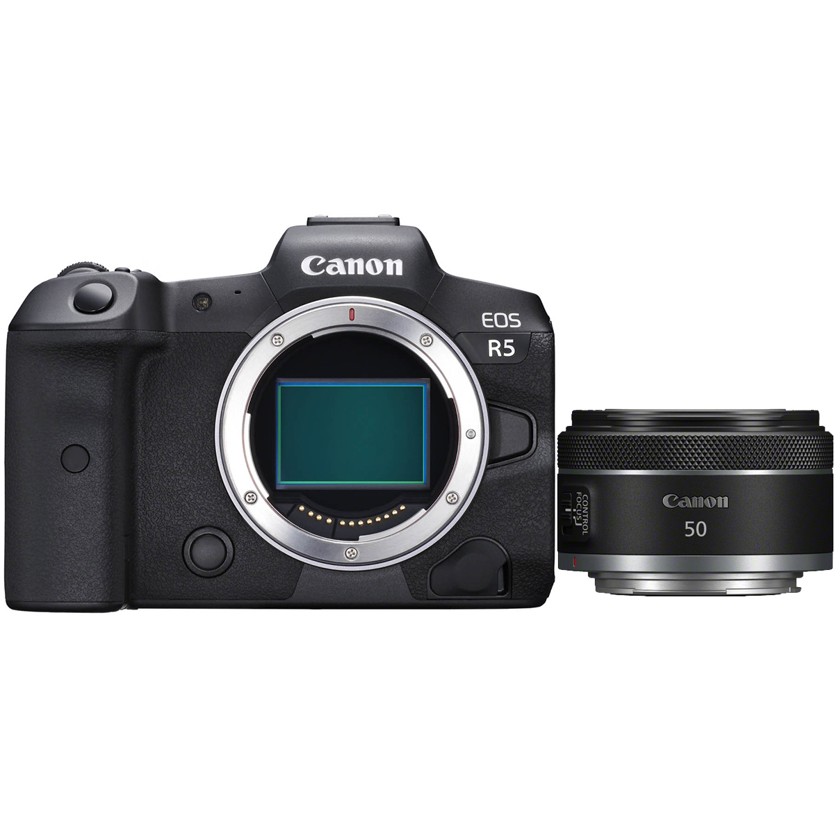 Canon EOS R5 Kit mit RF 50 mm 1:1,8