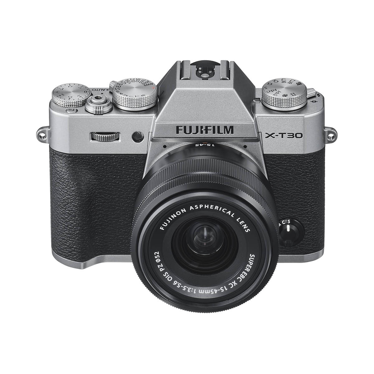 Fujifilm X-T30 Kit mit 15-45 mm 1:3,5-5,6 Silber
