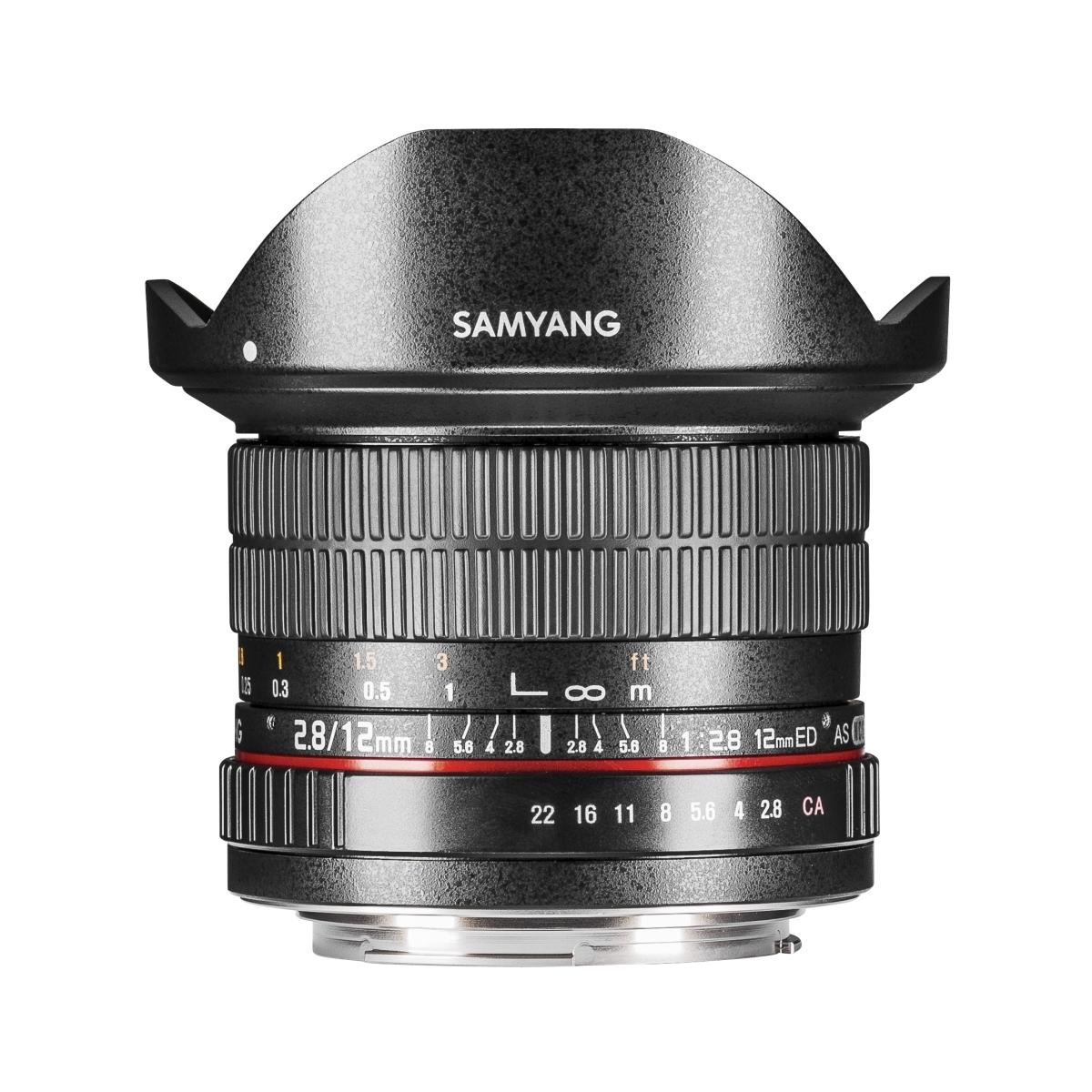 Samyang MF 12 mm 1:2,8 Fisheye für Nikon F