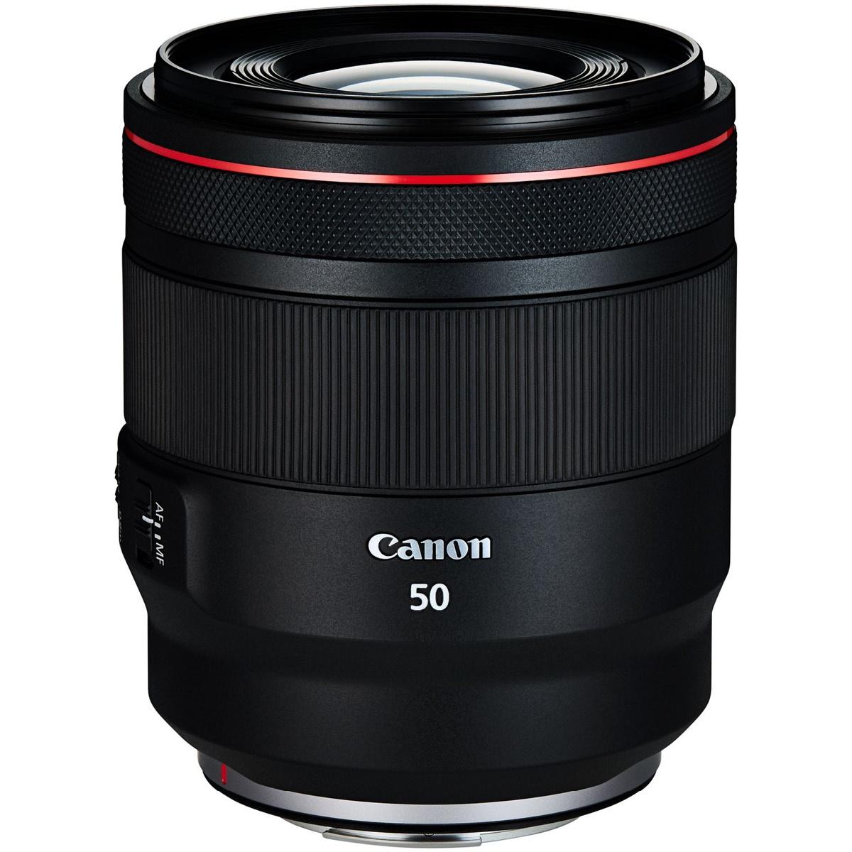 Canon RF 50 mm 1:1,2 L USM