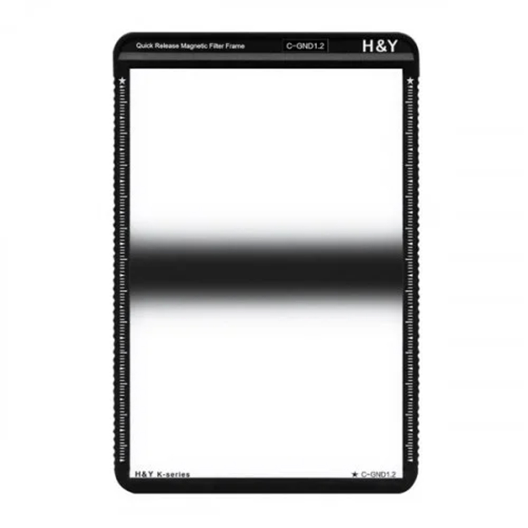 H&Y Grauverlaufsfilter 100x150 mm GND16 Zentral K-Serie