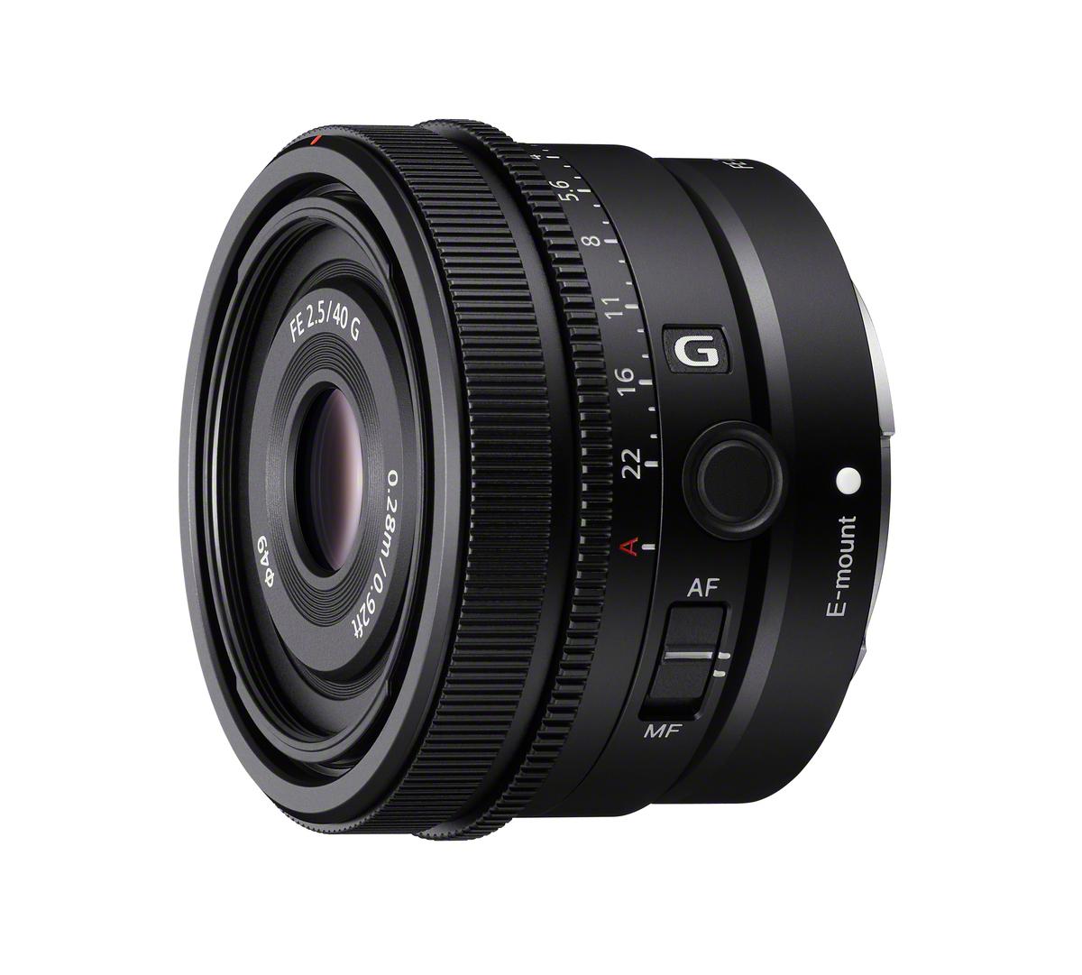 Sony 40 mm 1:2,5 SEL G FE