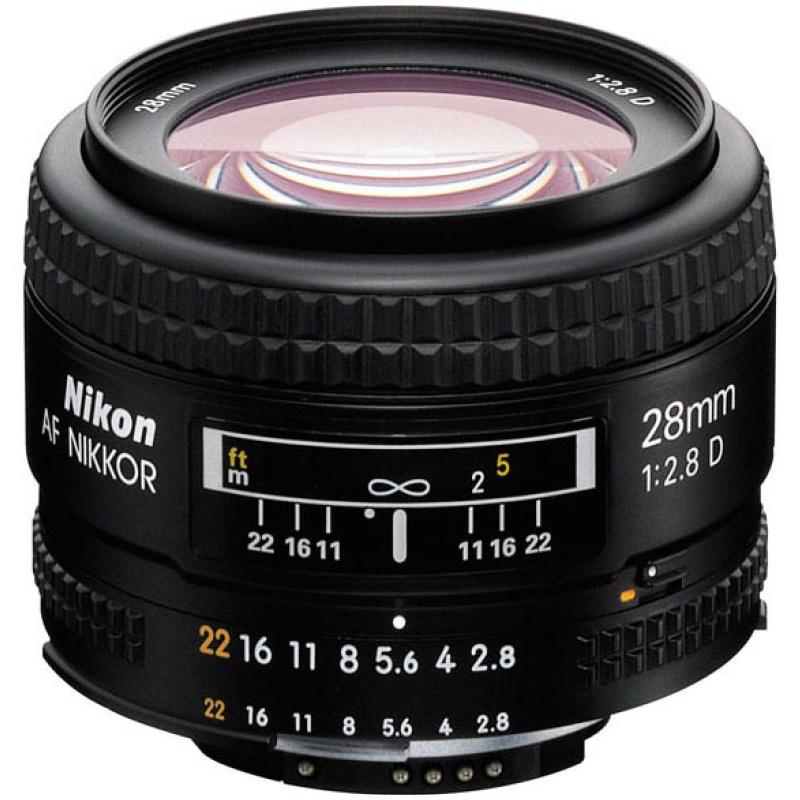 Nikon 28 mm 1:2,8 AF-D Nikkor