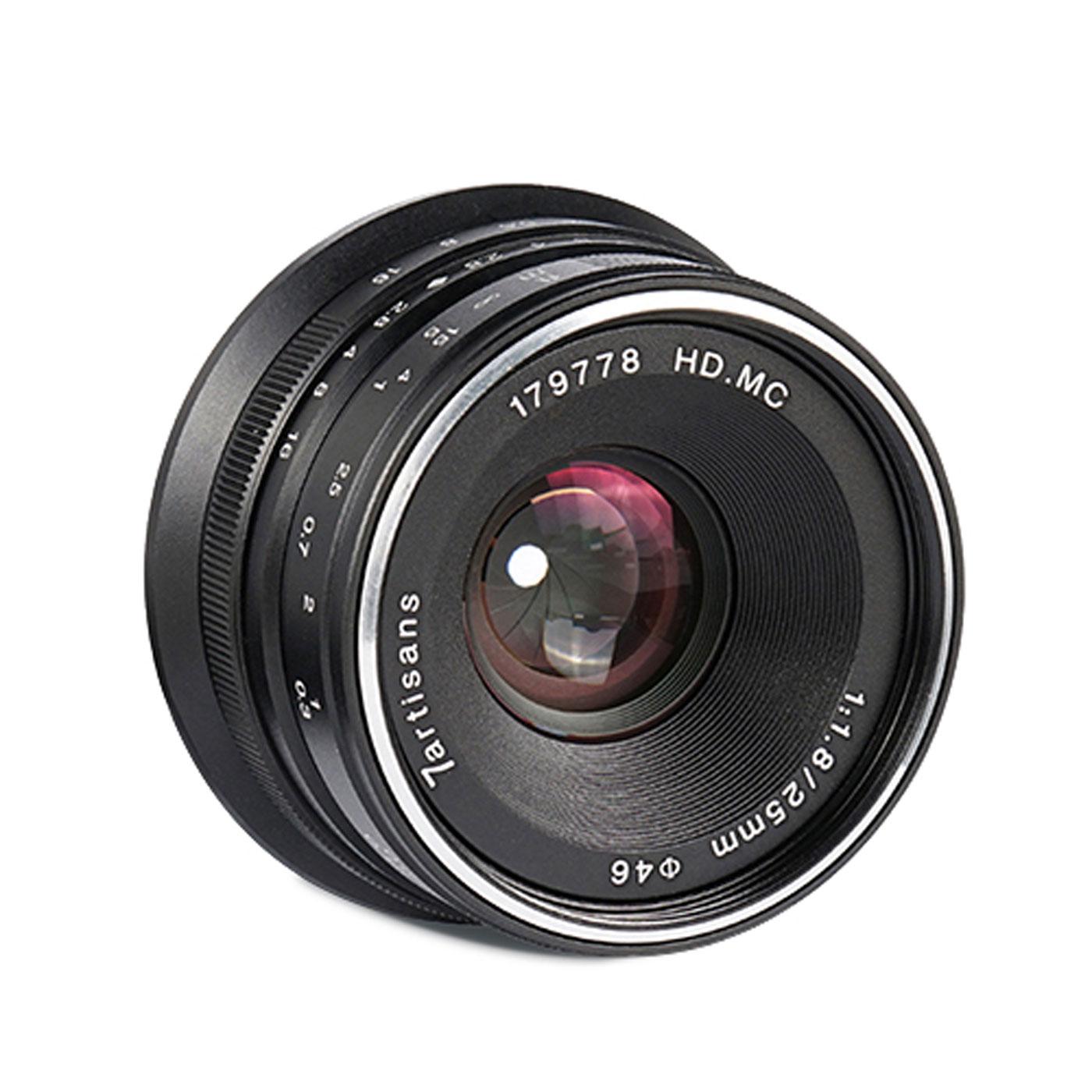 7Artisans 25 mm 1:1,8 für Canon EF-M