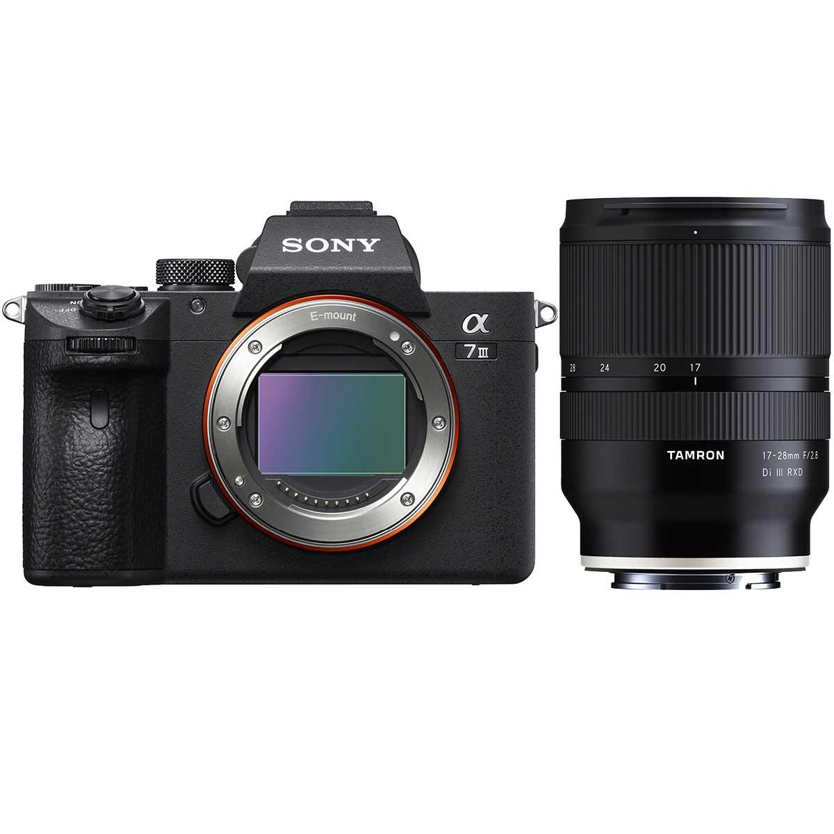 Sony Alpha 7 III + Tamron 17-28mm 1:2,8 Di III RXD