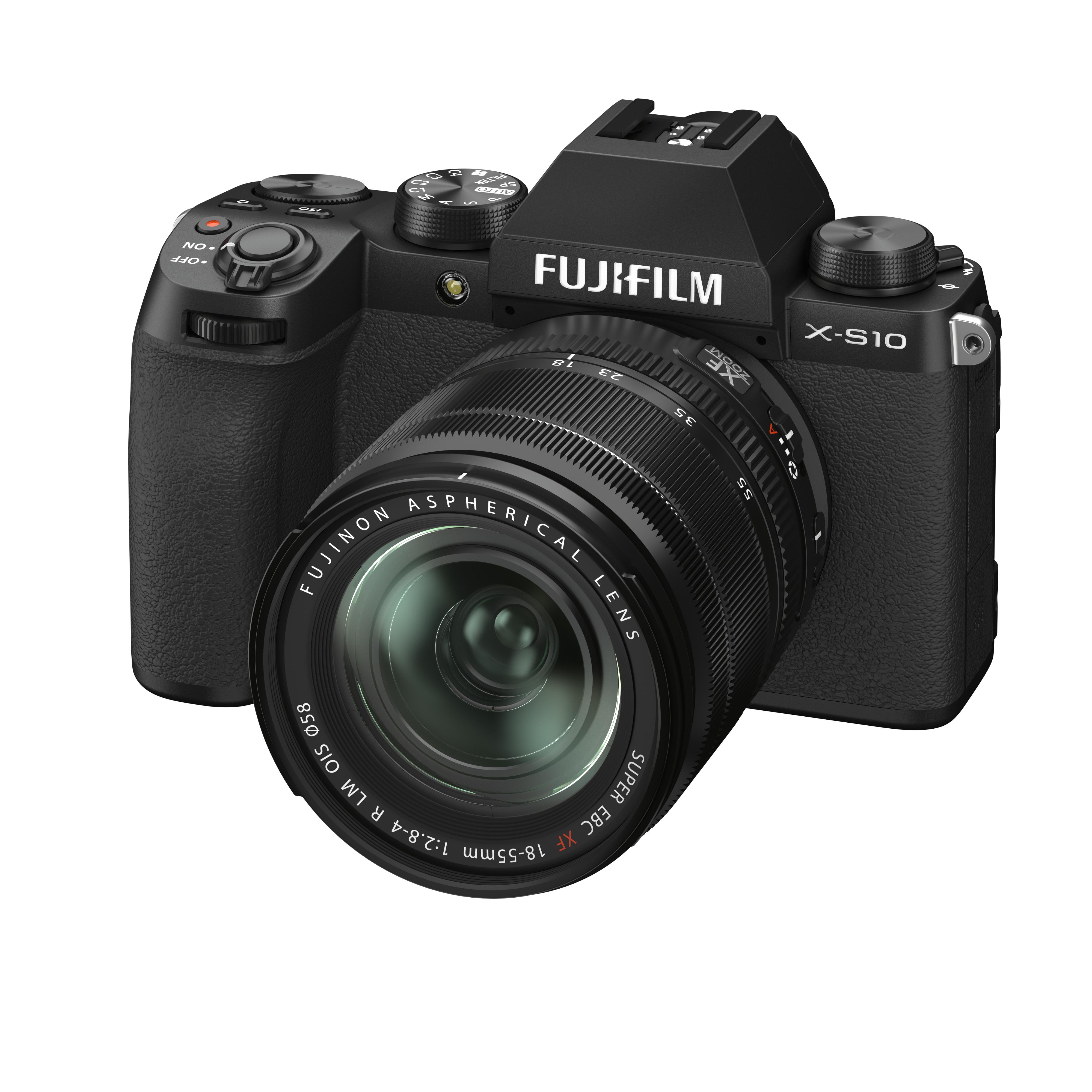 Fujifilm X-S10 Kit mit 18-55 mm 1:2,8-4