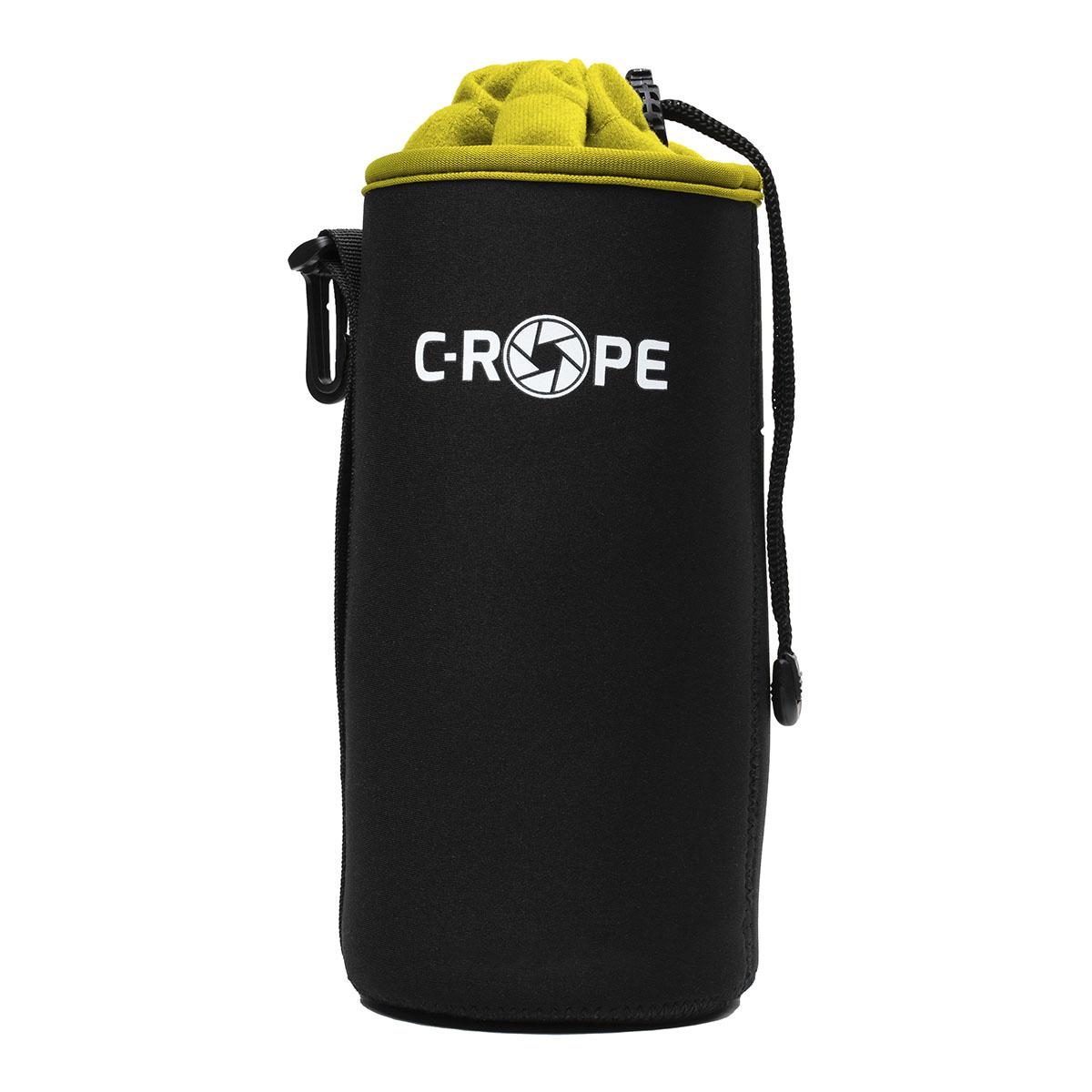 C-Rope Lenspouch Schwarz XL