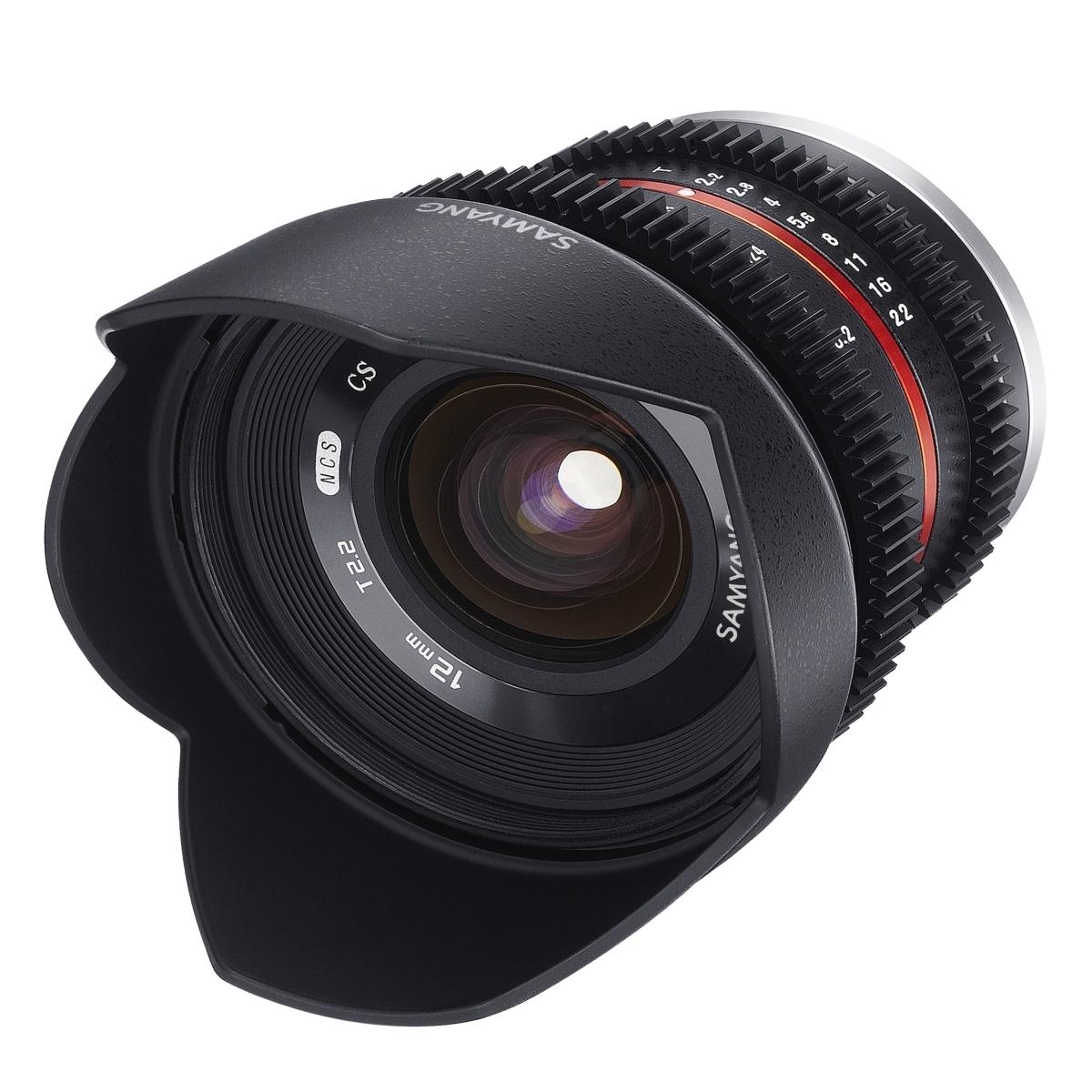 Samyang MF 12 mm 1:2,2 Video für Canon EF-M