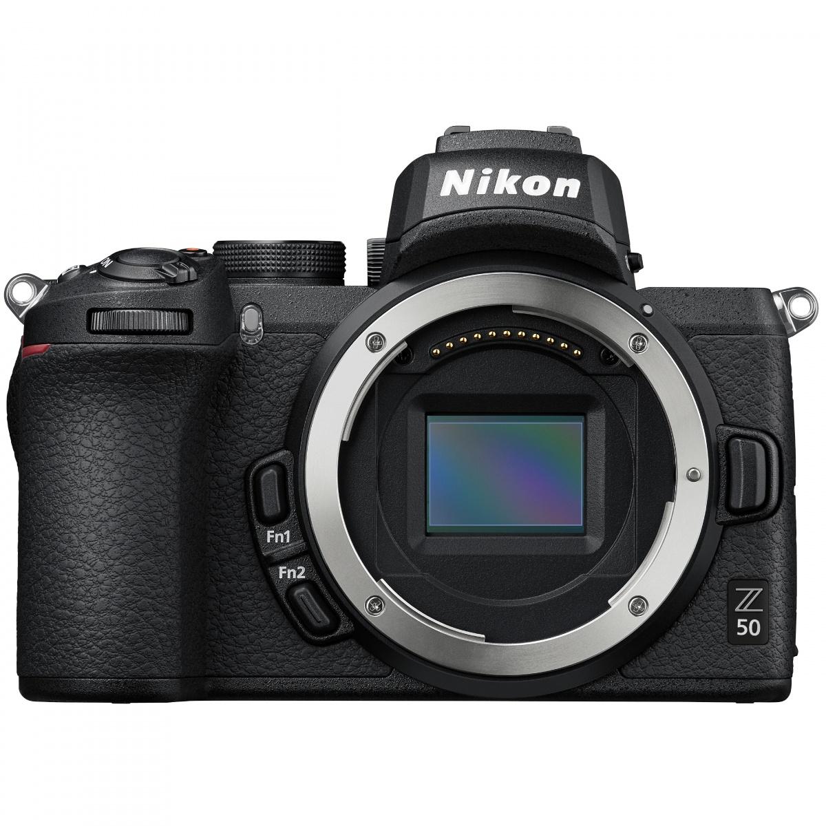 Nikon Z50 Kit mit FTZ Adapter