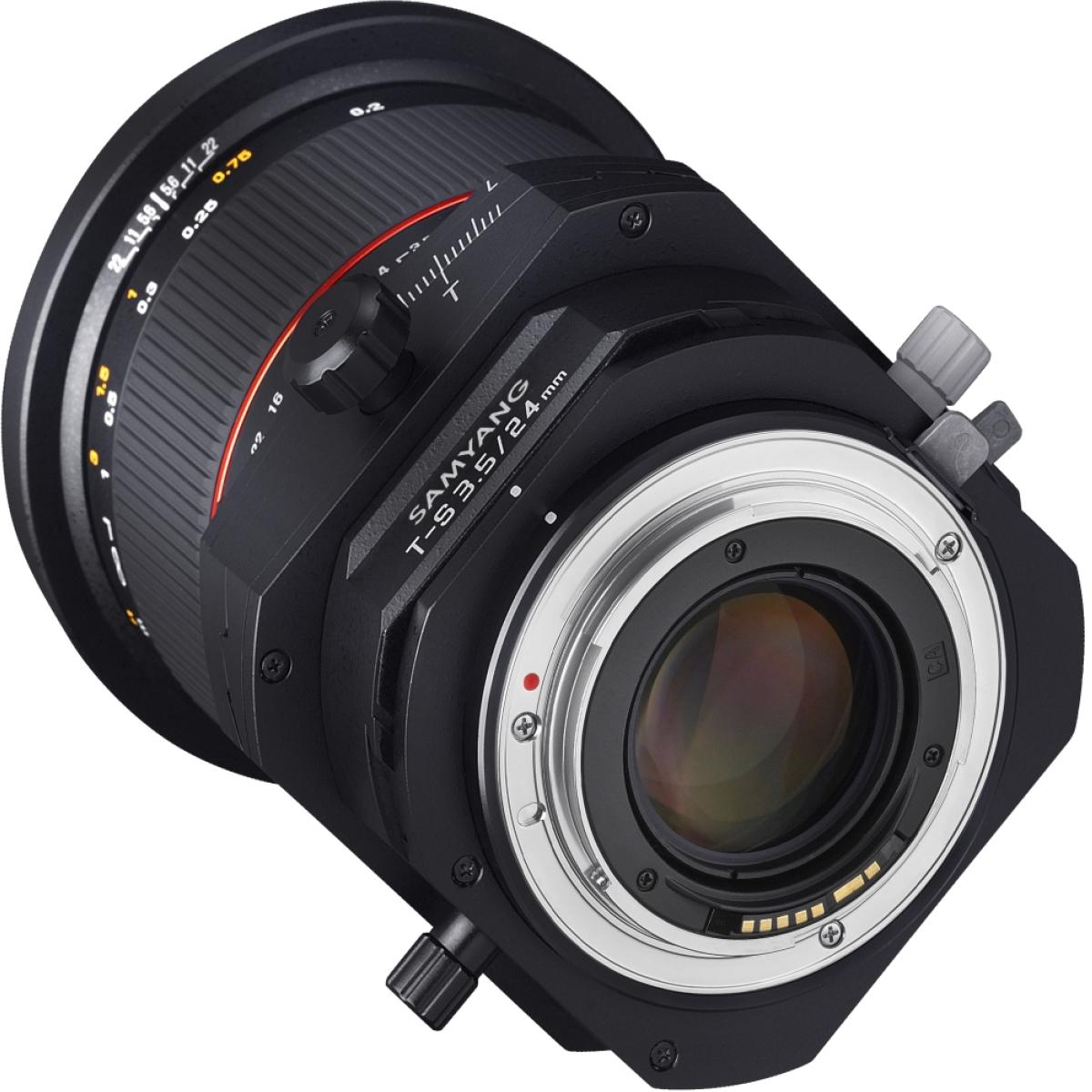 Samyang Tilt-Shift 24 mm 1:3,5 für Canon EF