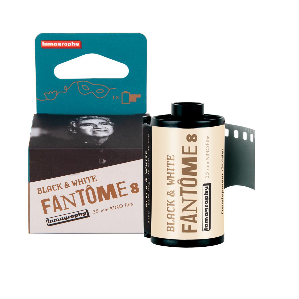 Lomo Fantôme Kino 35/8 Schwarz/Weiss