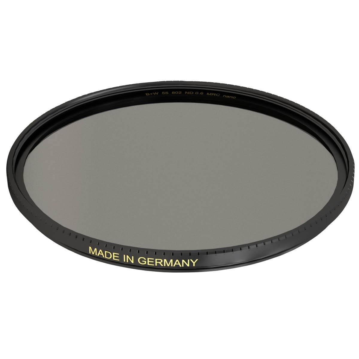 B+W Graufilter 62 mm XS-Pro +2