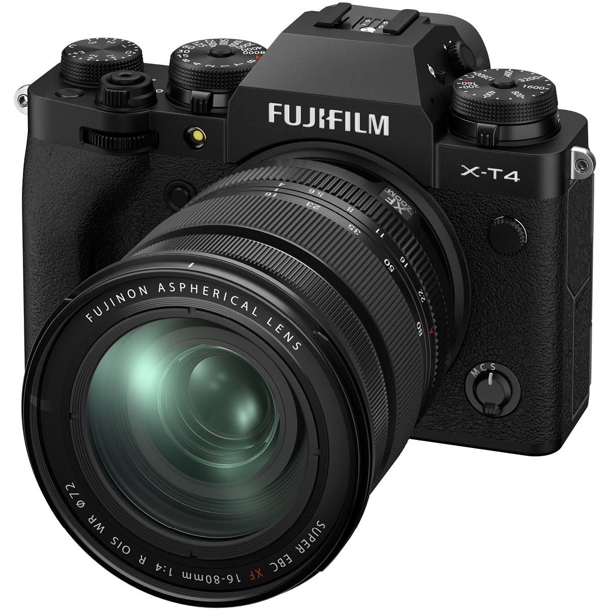 Fujifilm X-T4 Kit mit 16-80 mm 1:4,0 Schwarz