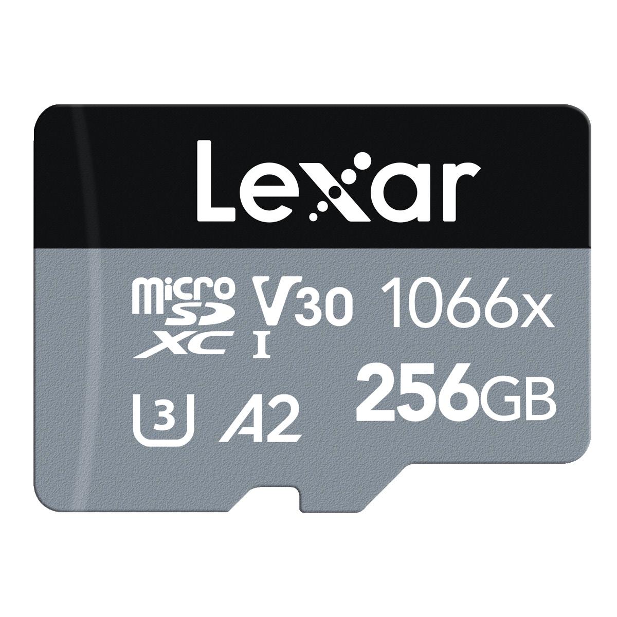 Lexar 256 GB Micro-SD 1066x