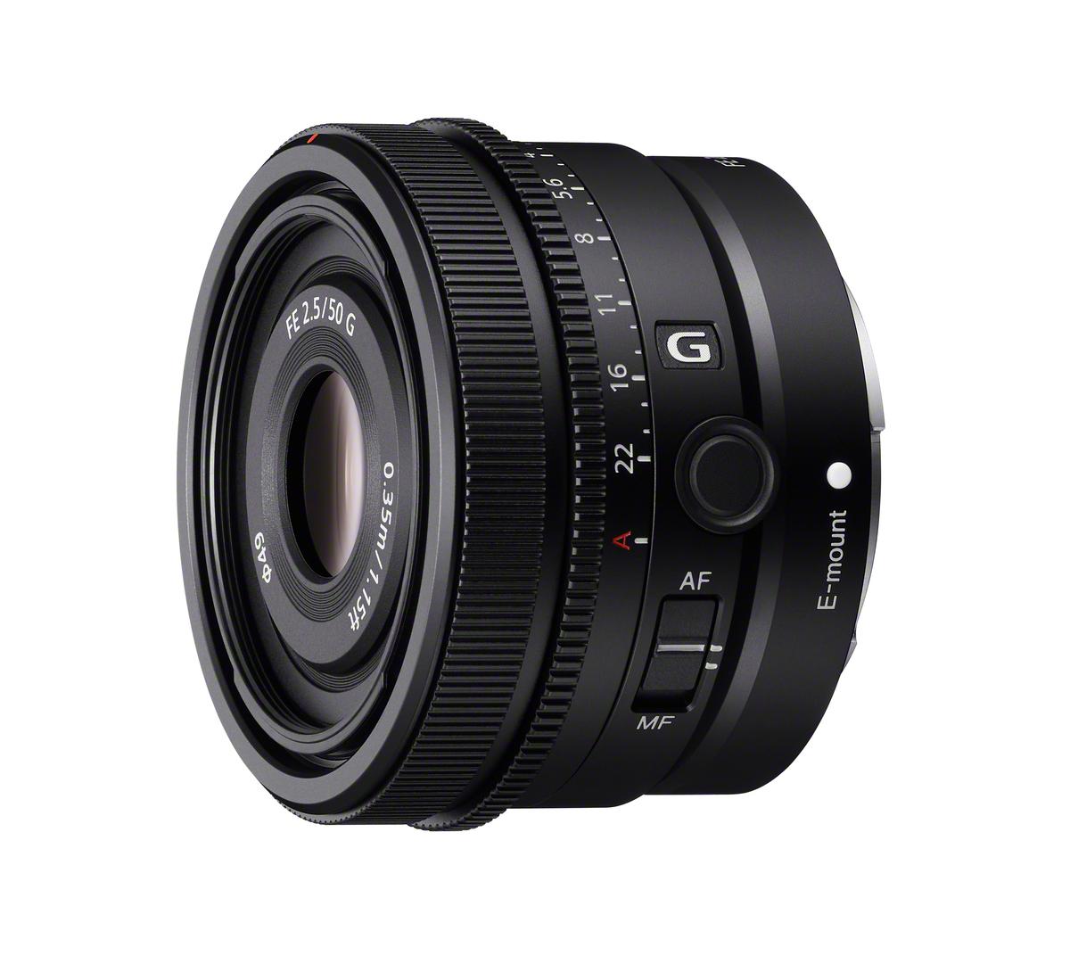 Sony 50 mm 1:2,5 SEL G FE