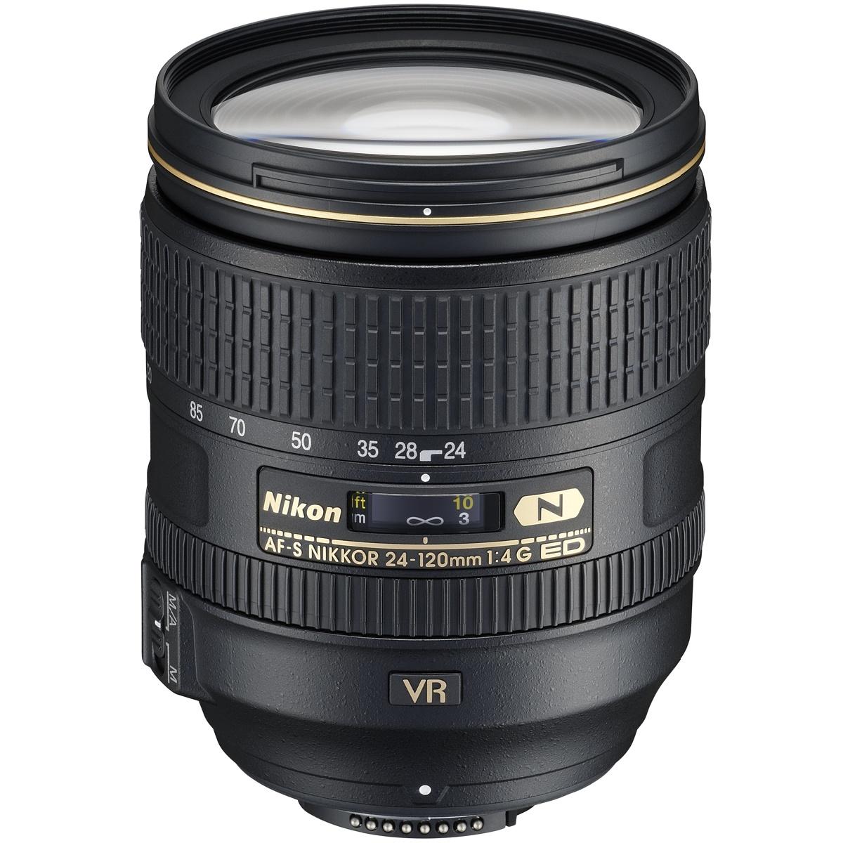 Nikon 24-120 mm 1:4,0 AF-S G ED VR