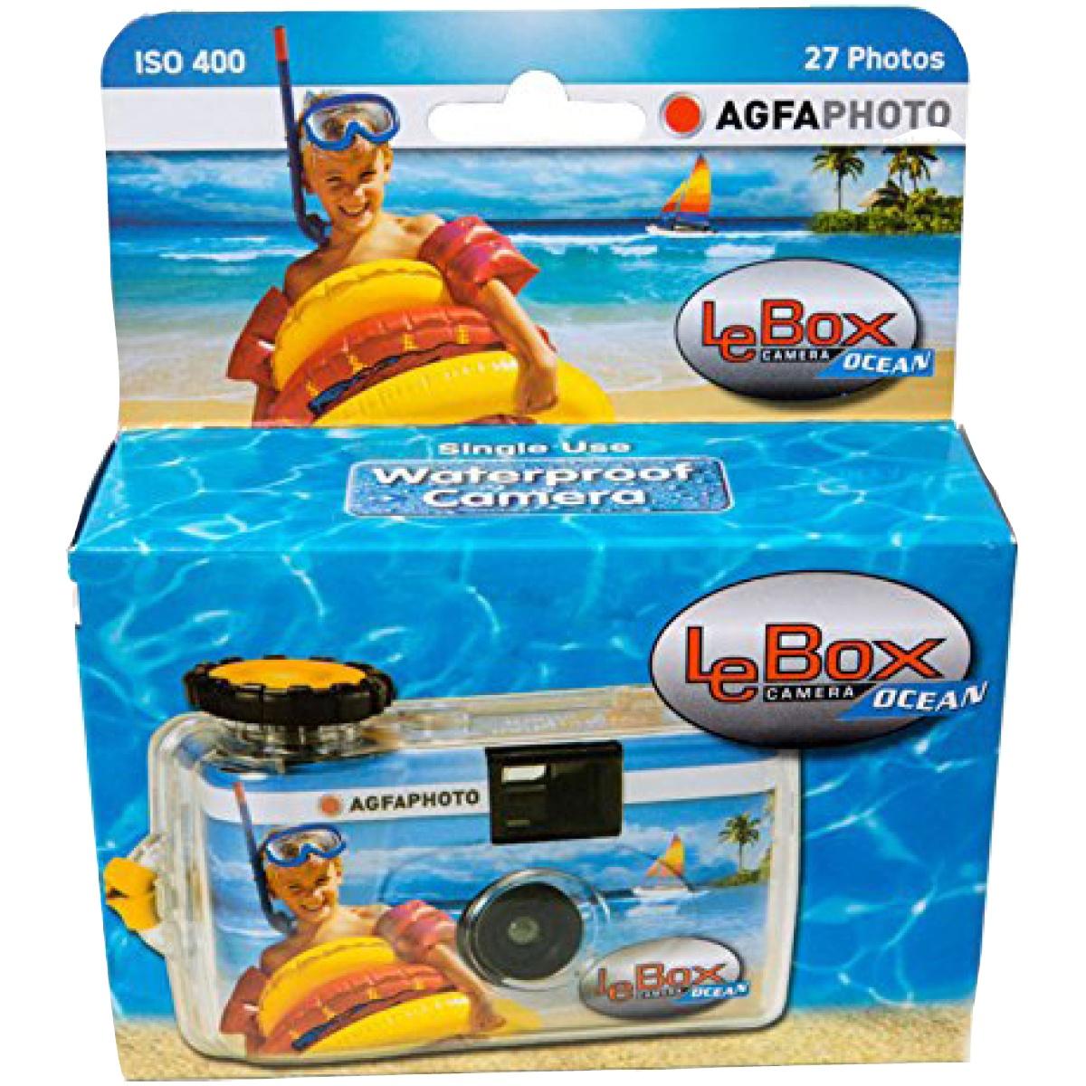 Agfa Einwegkamera Le Box Ocean 400-27