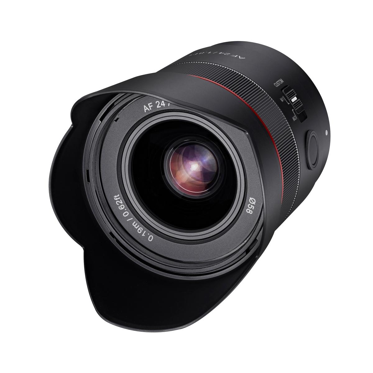 Samyang AF 24 mm 1:1,8 für Sony FE