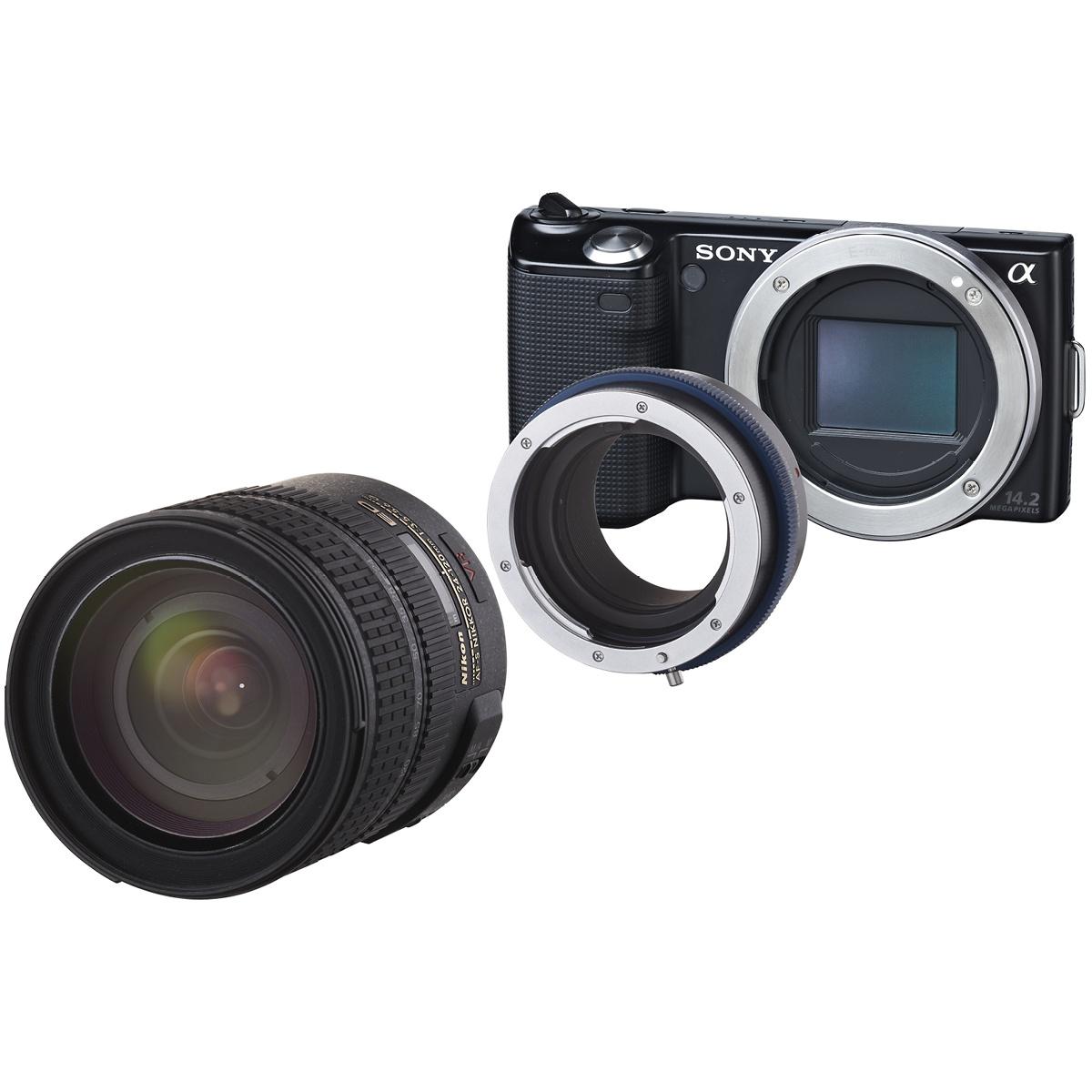 Novoflex Adapter Nikon Objektive an Sony E