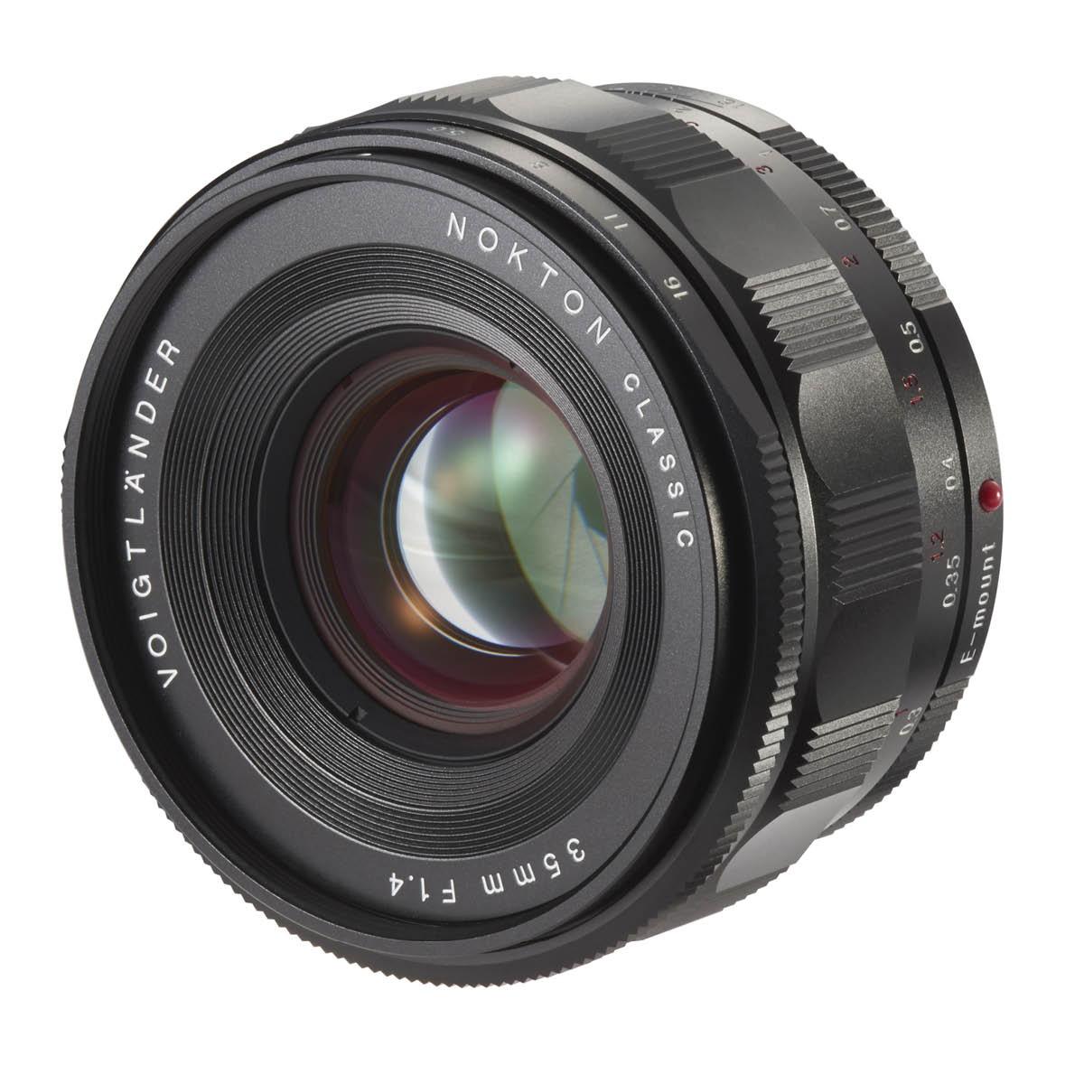 Voigtländer 35 mm 1:1,4 Nokton Classic Sony FE
