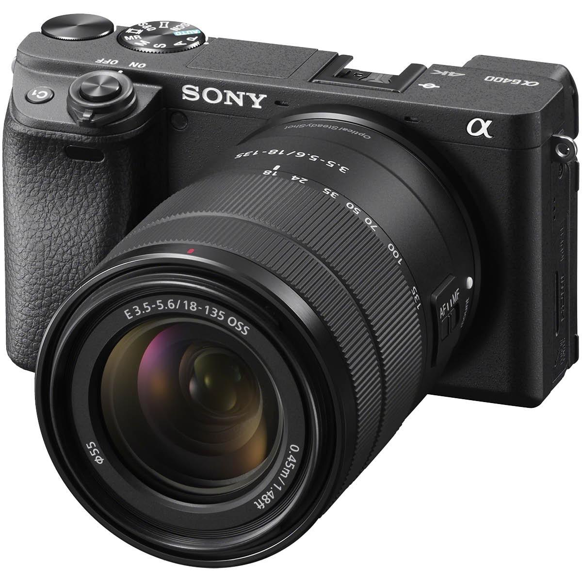 Sony Alpha 6400 Kit mit 18-135 mm 1:3,5-5,6