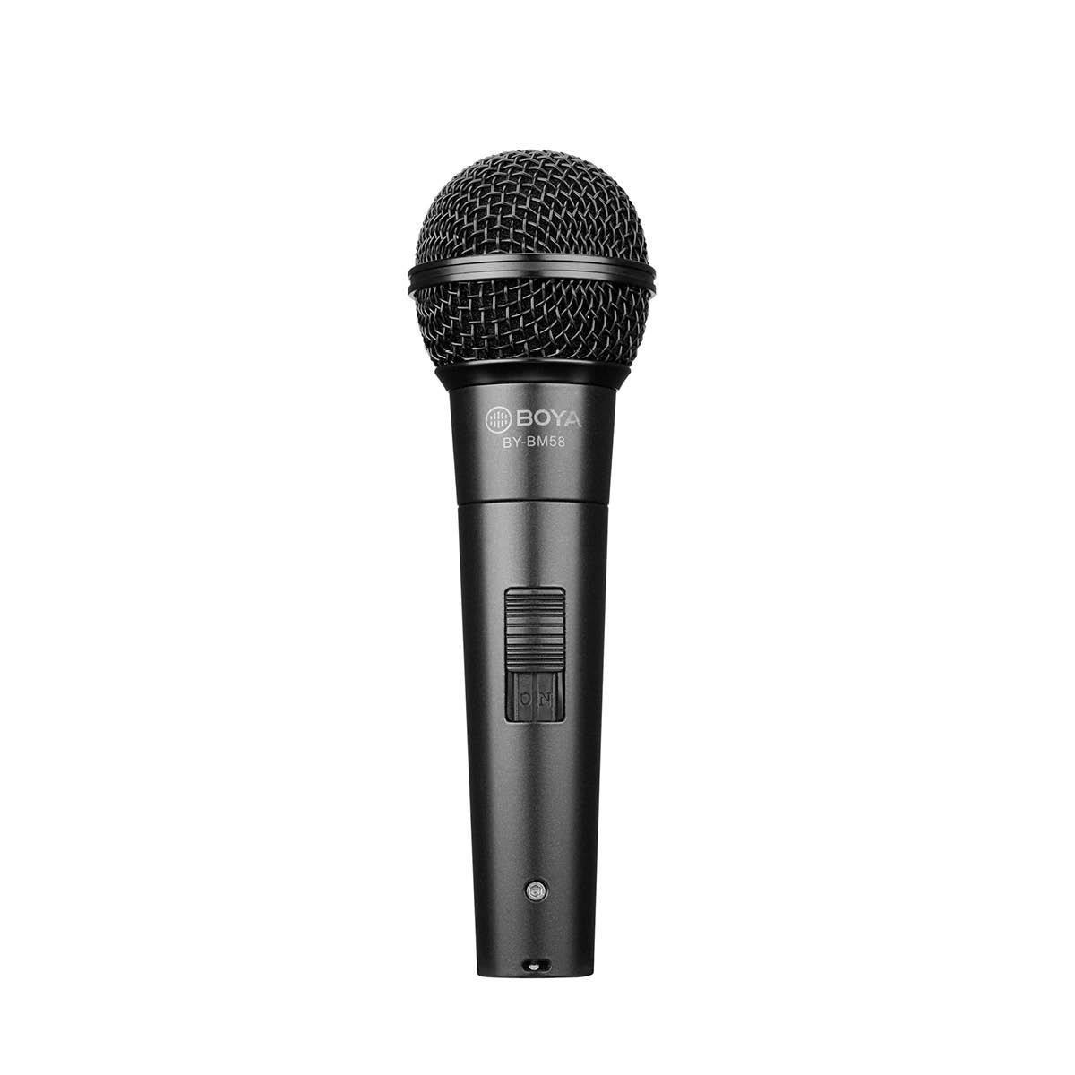 Boya BY-BM58 XLR Dyn. Handmikro für Bühne, Stimme