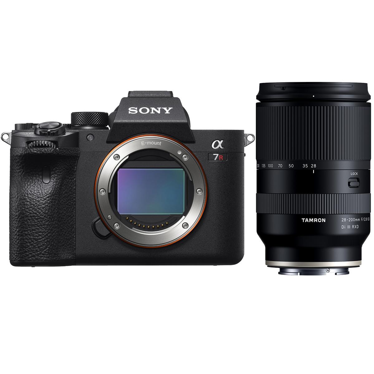Sony Alpha 7R III A + Tamron 28-200 mm 1:2,8-5,6 Di III RXD