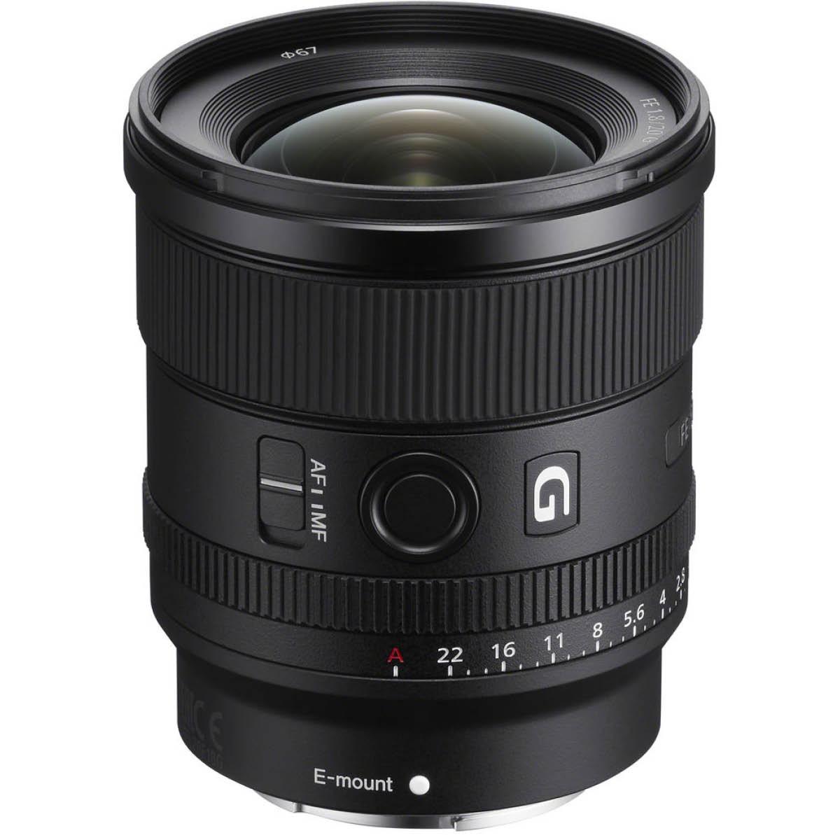 Sony 20 mm 1:1,8 FE-Mount