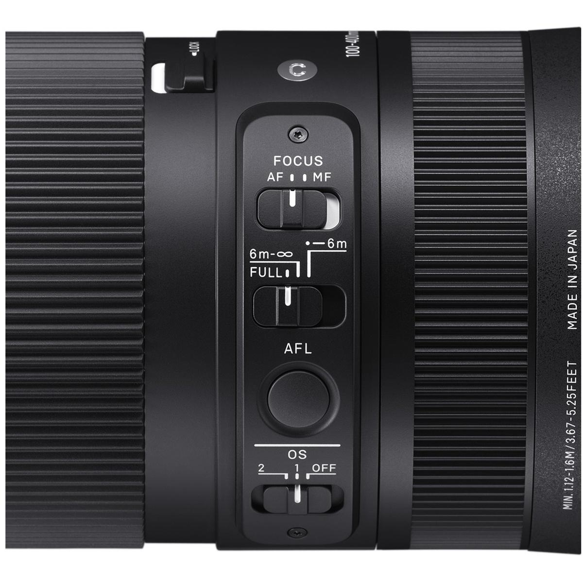 Sigma 100-400 mm 1:5-6,3 DN OS (C) L-Mount