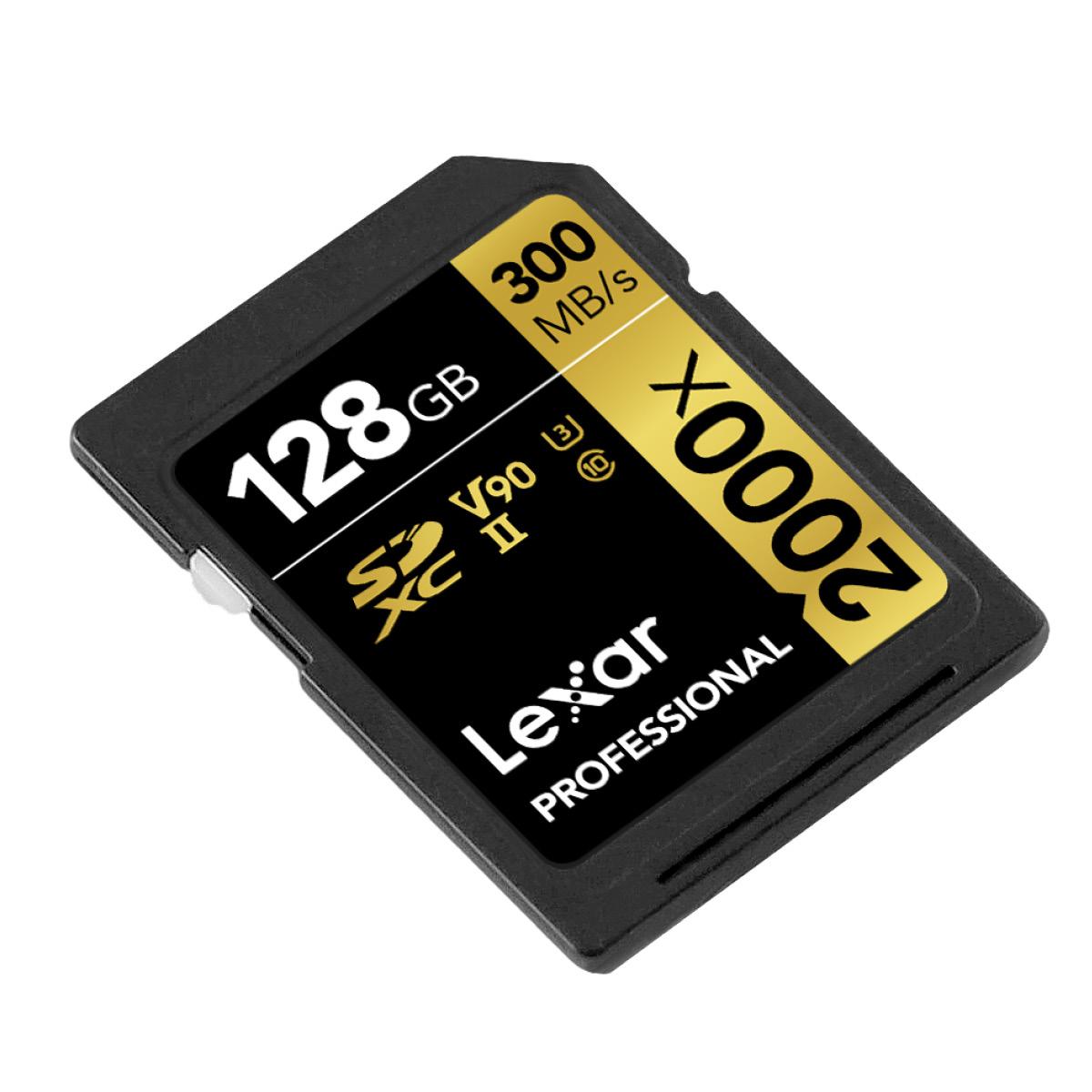 Lexar SDXC 128GB Professional UHS-II 2000x