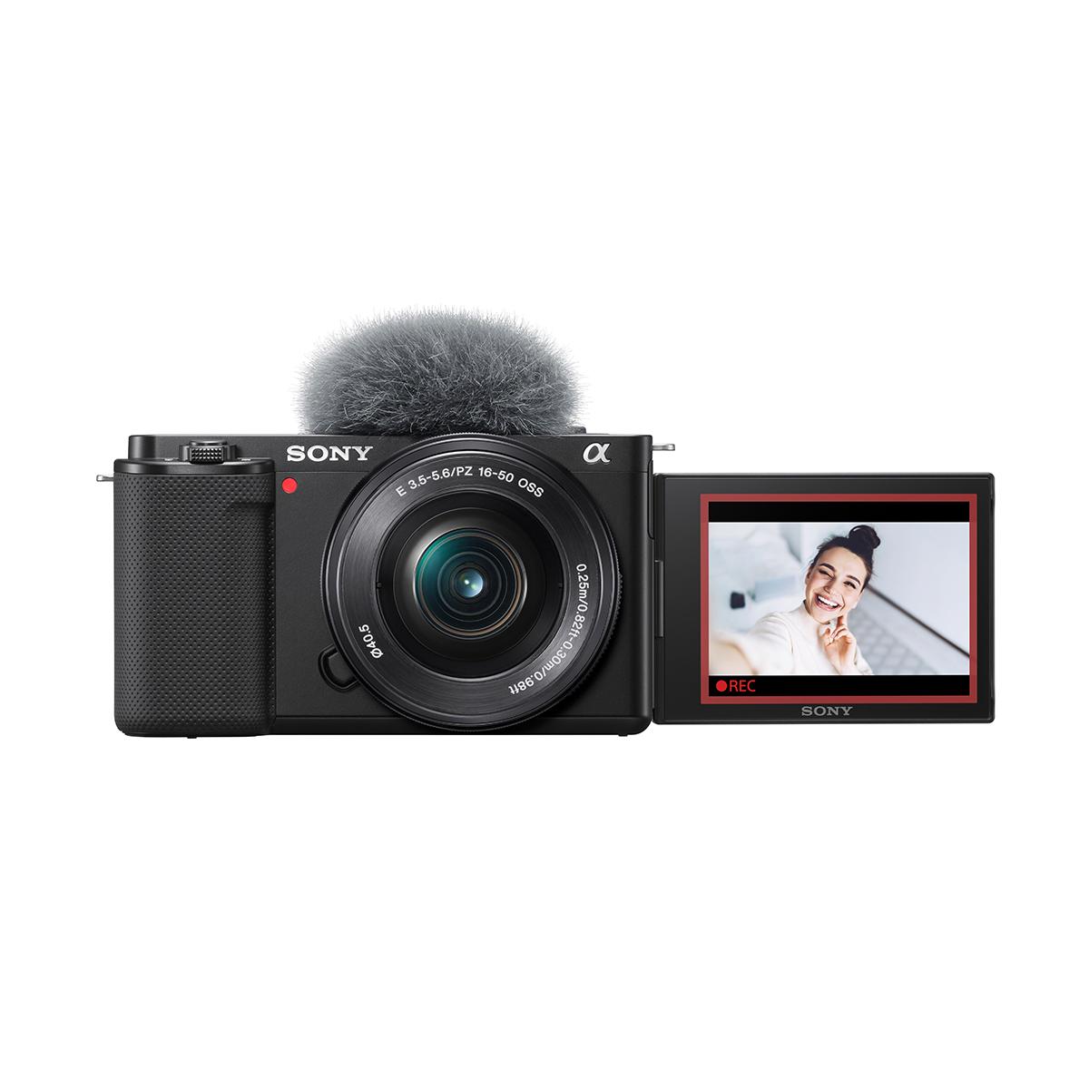 Sony Alpha ZV-E 10 mit 16-50 mm 1:3,5-5,6