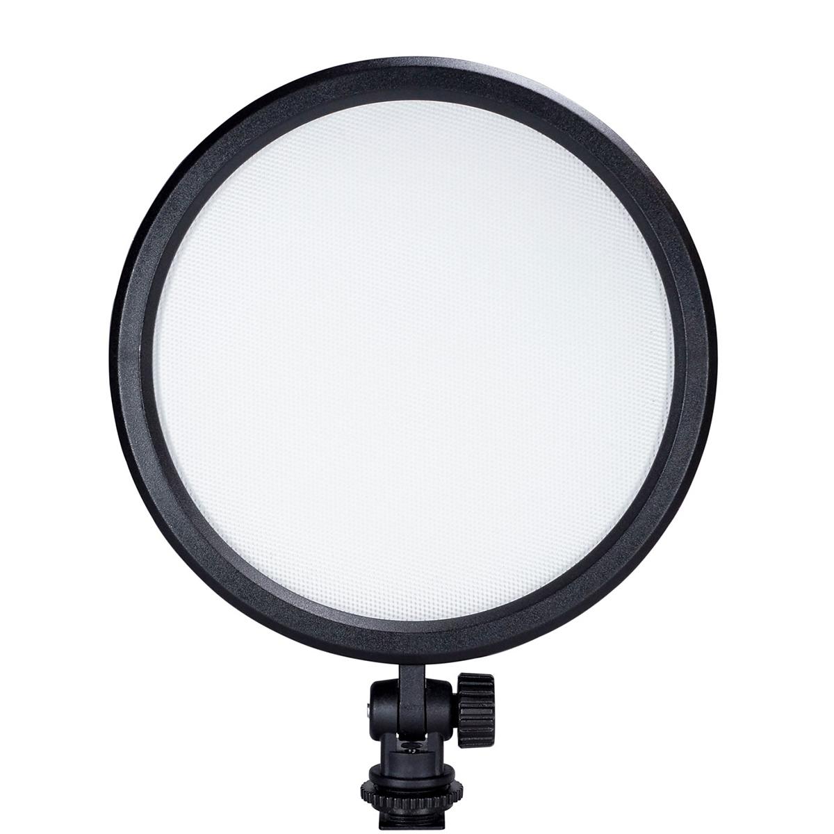 B.I.G. LED 120VCR Video-Flächenleuchte, rund, 16 cm