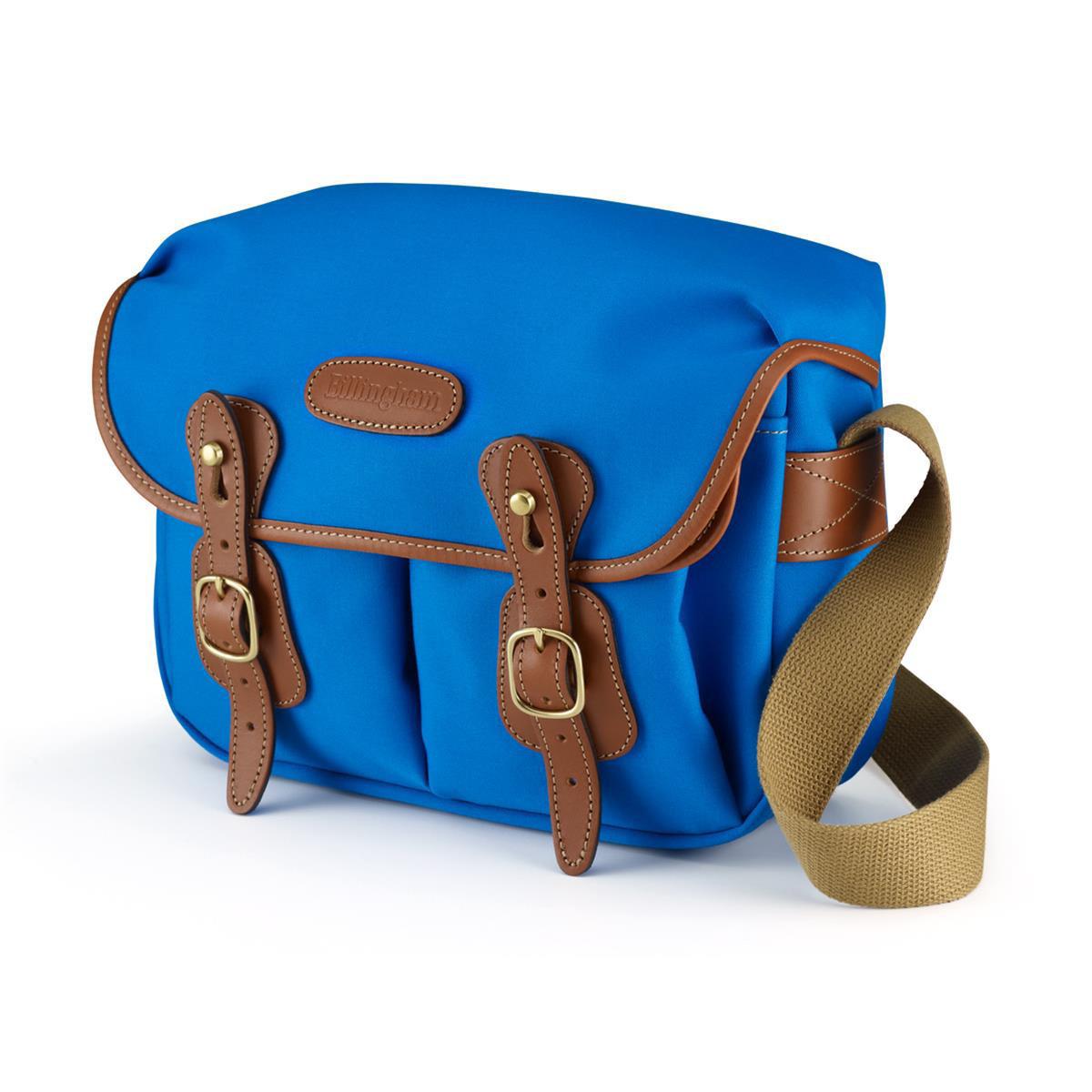 Billigham Hadley Small Blue/Tan