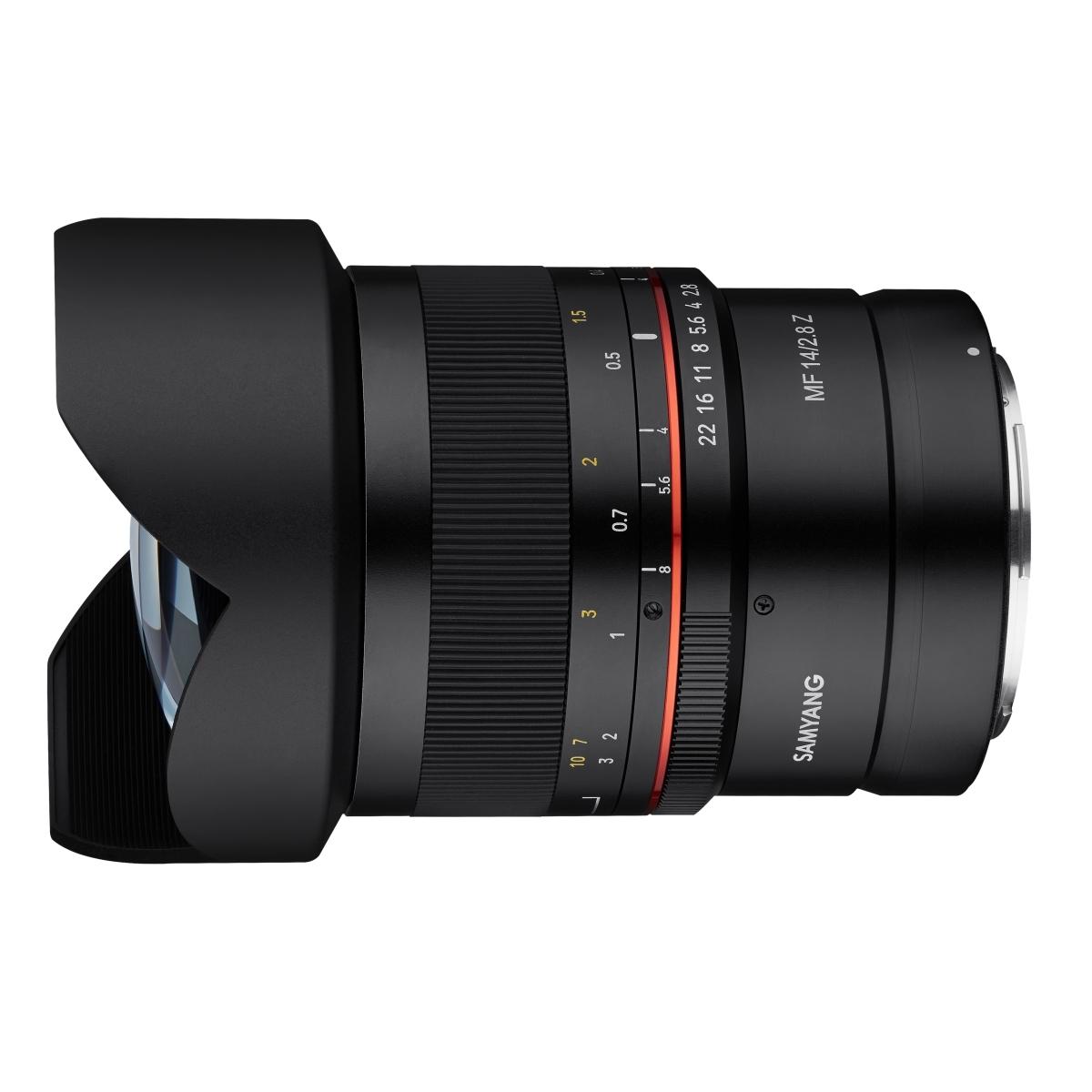 Samyang MF 14 mm 1:2,8 für Nikon Z