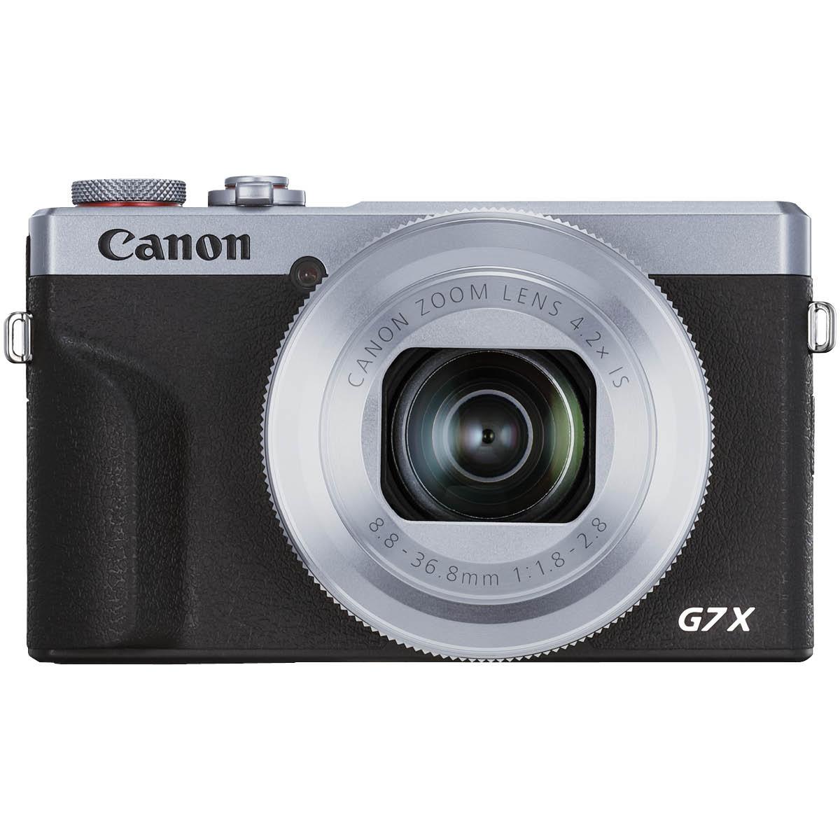 Canon Powershot G7X III Silber