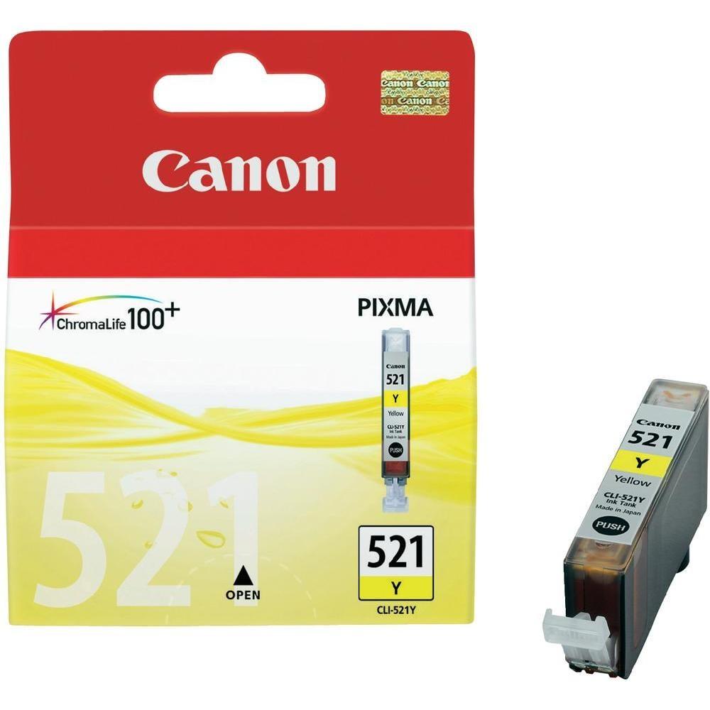 Canon CLI-521 Y Tintenpatrone Gelb