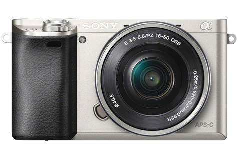 Sony Alpha 6100 Kit mit 16-50 mm 1:3,5-5,6 Silber
