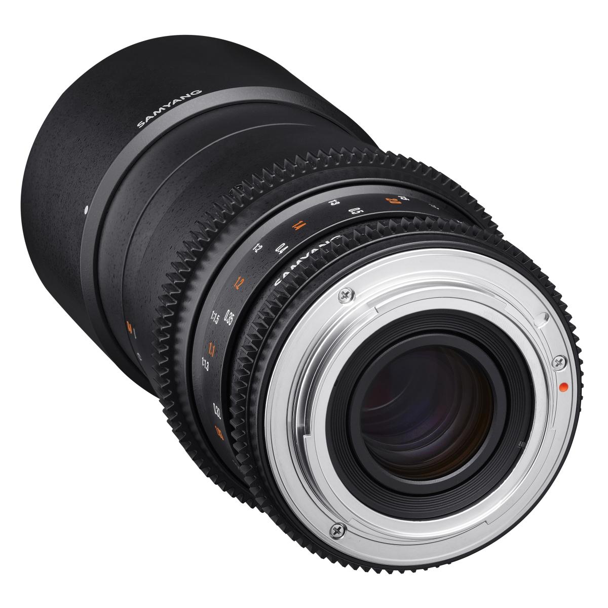 Samyang MF 100 mm 1:3,1 Makro Video DSLR für Fujifilm X