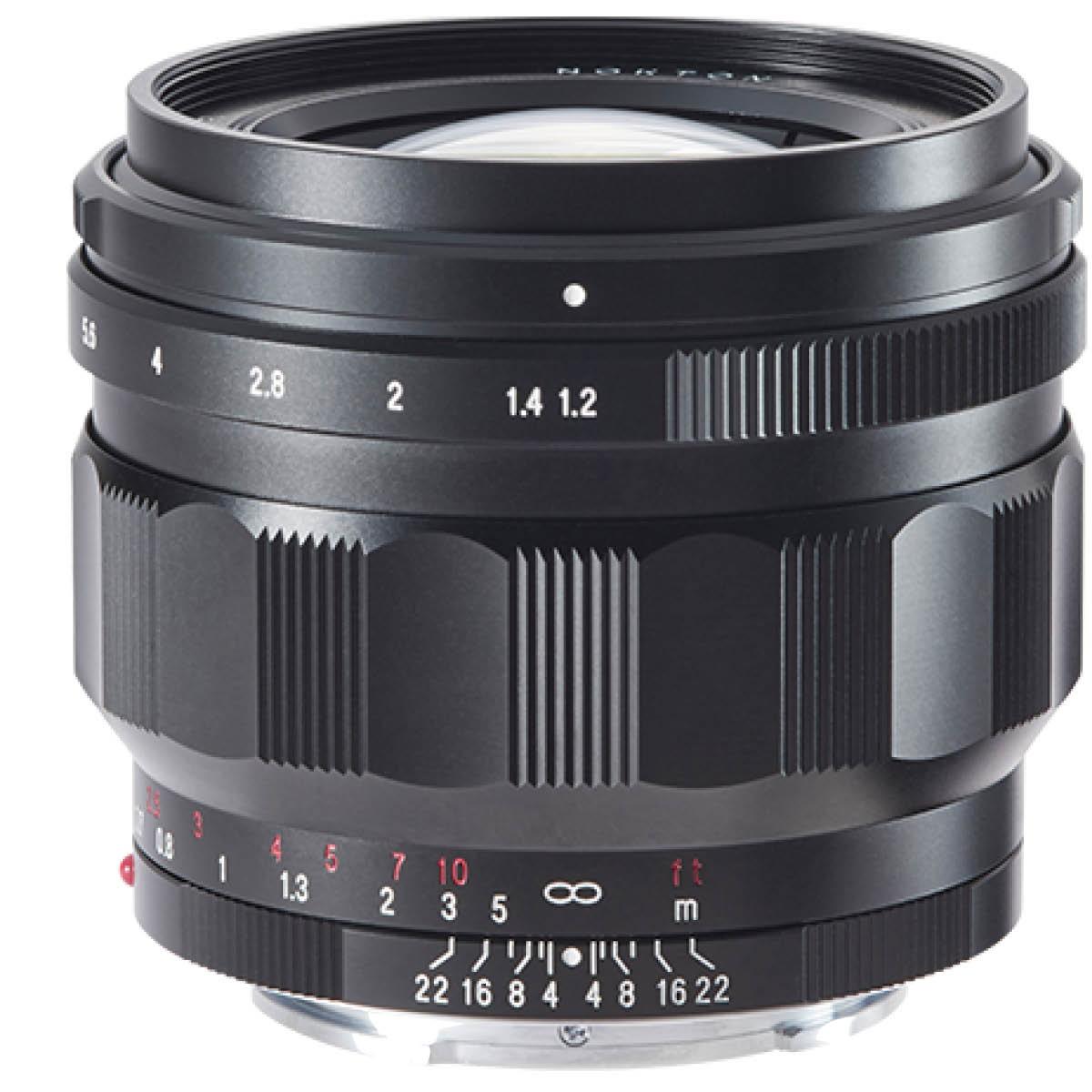 Voigtländer 50 mm 1:1,2 Nokton ASPH. Sony FE Schwarz